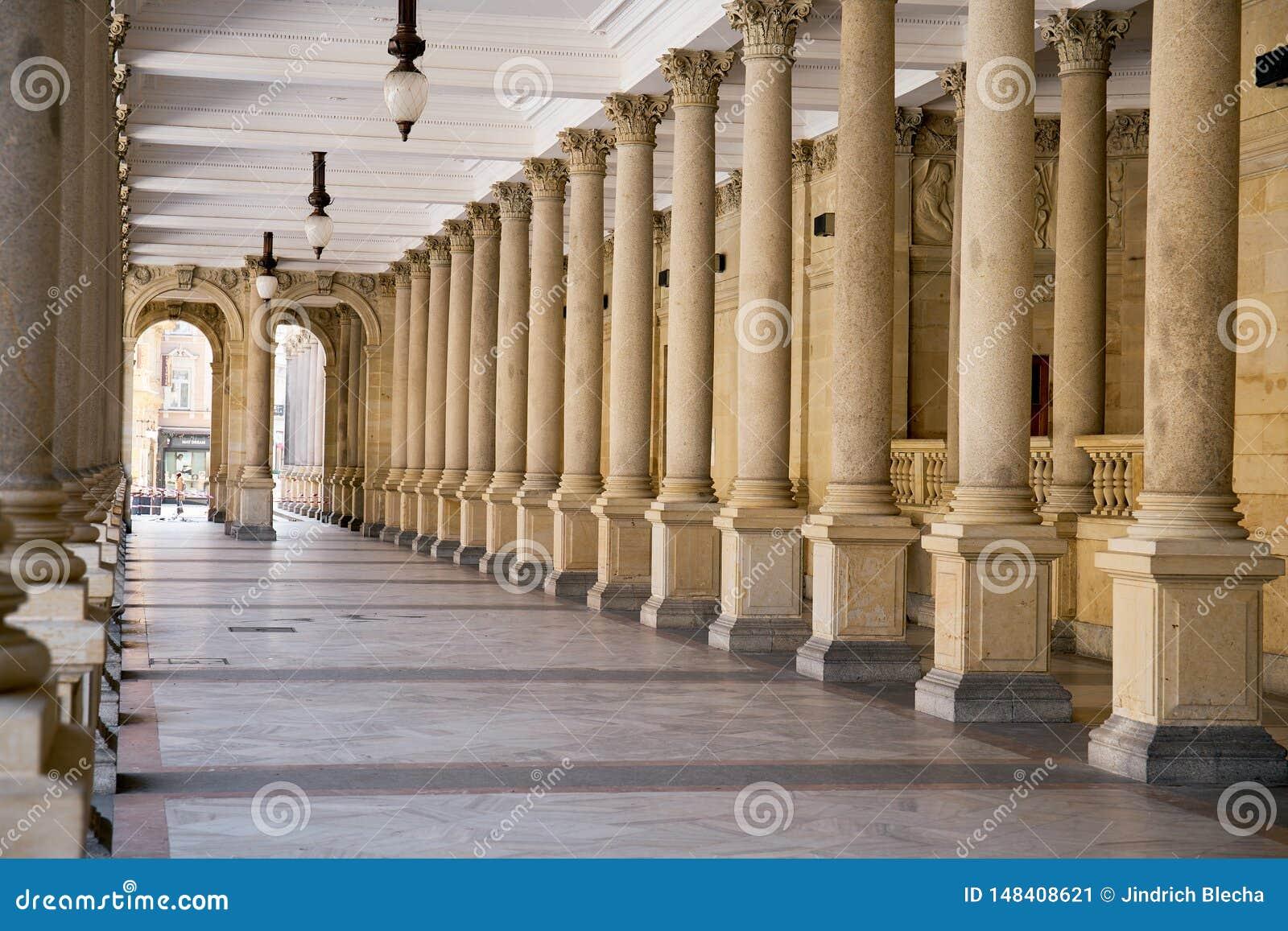 Colonnato a Karlovy Vary