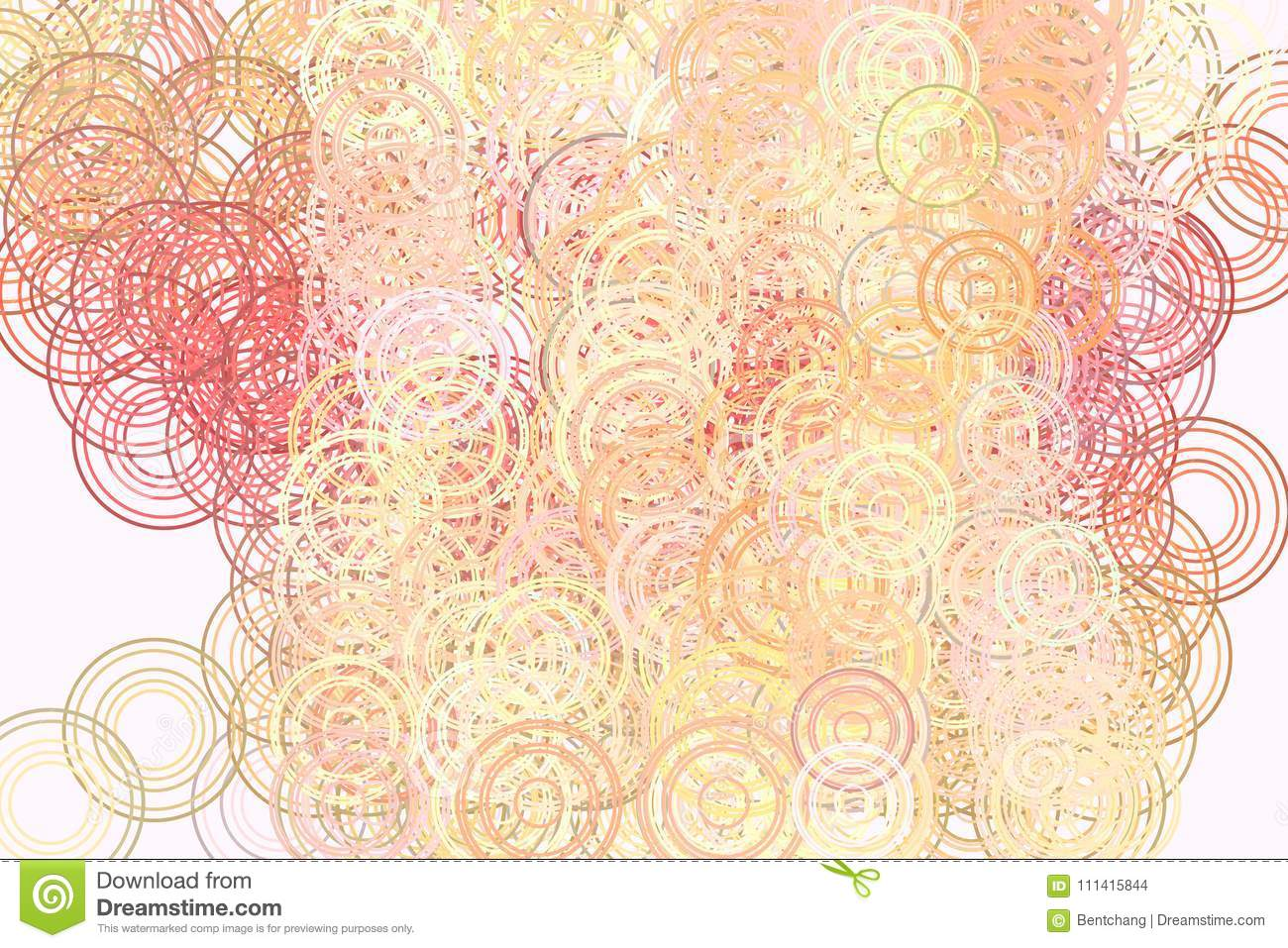 Color Abstract Circles Bubbles Sphere Or Ellipses Pattern Generative Art Background Shape