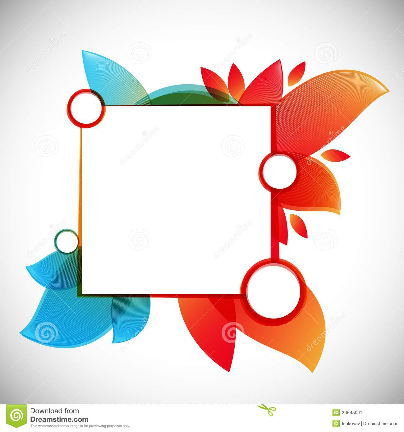 Jooker Lai Lai Lai Audio Theem Downlod: Color Abstract Vector Background / Text Frame Stock Image