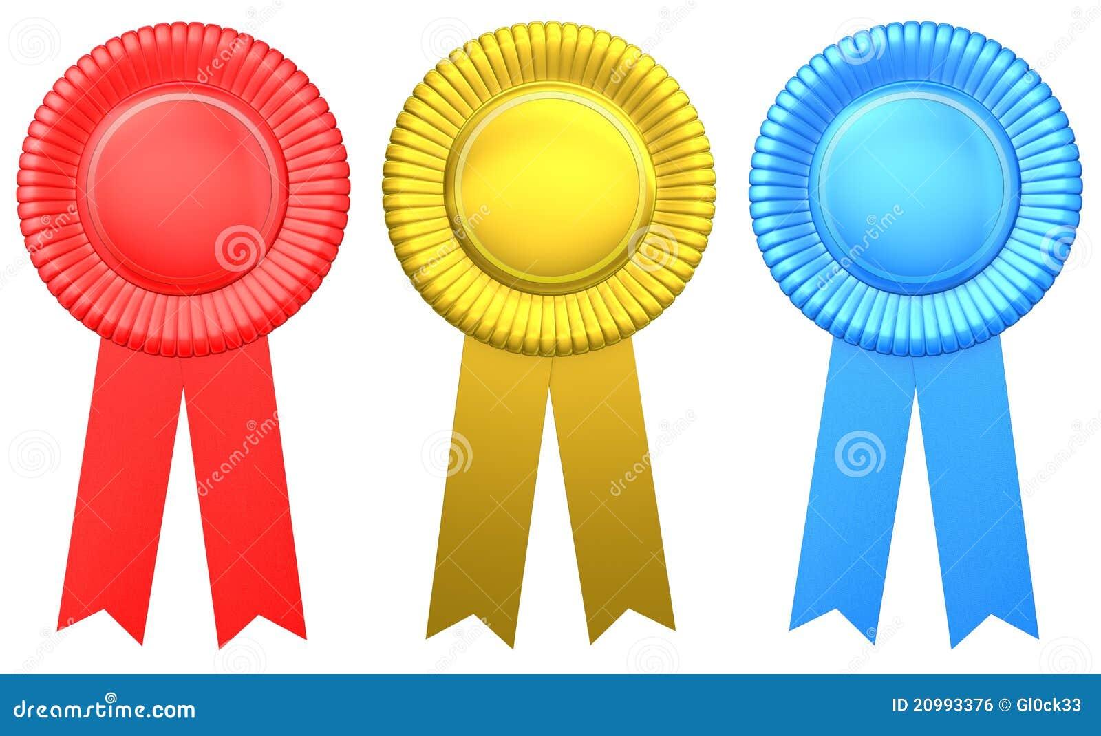 Color award ribbon stock illustration. Image of nobody ...
