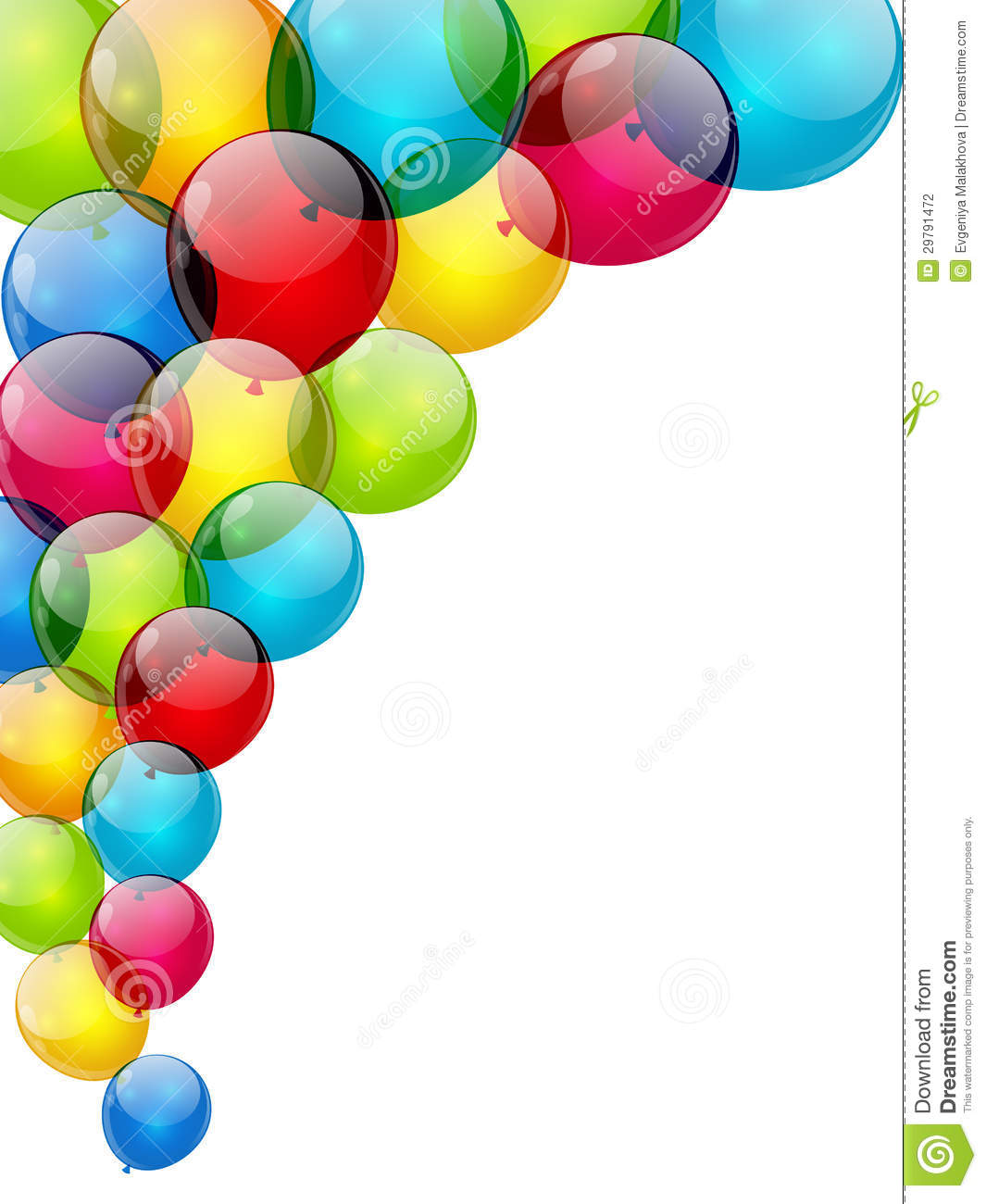 Balloon Background Stock Photography - Image: 29791472
