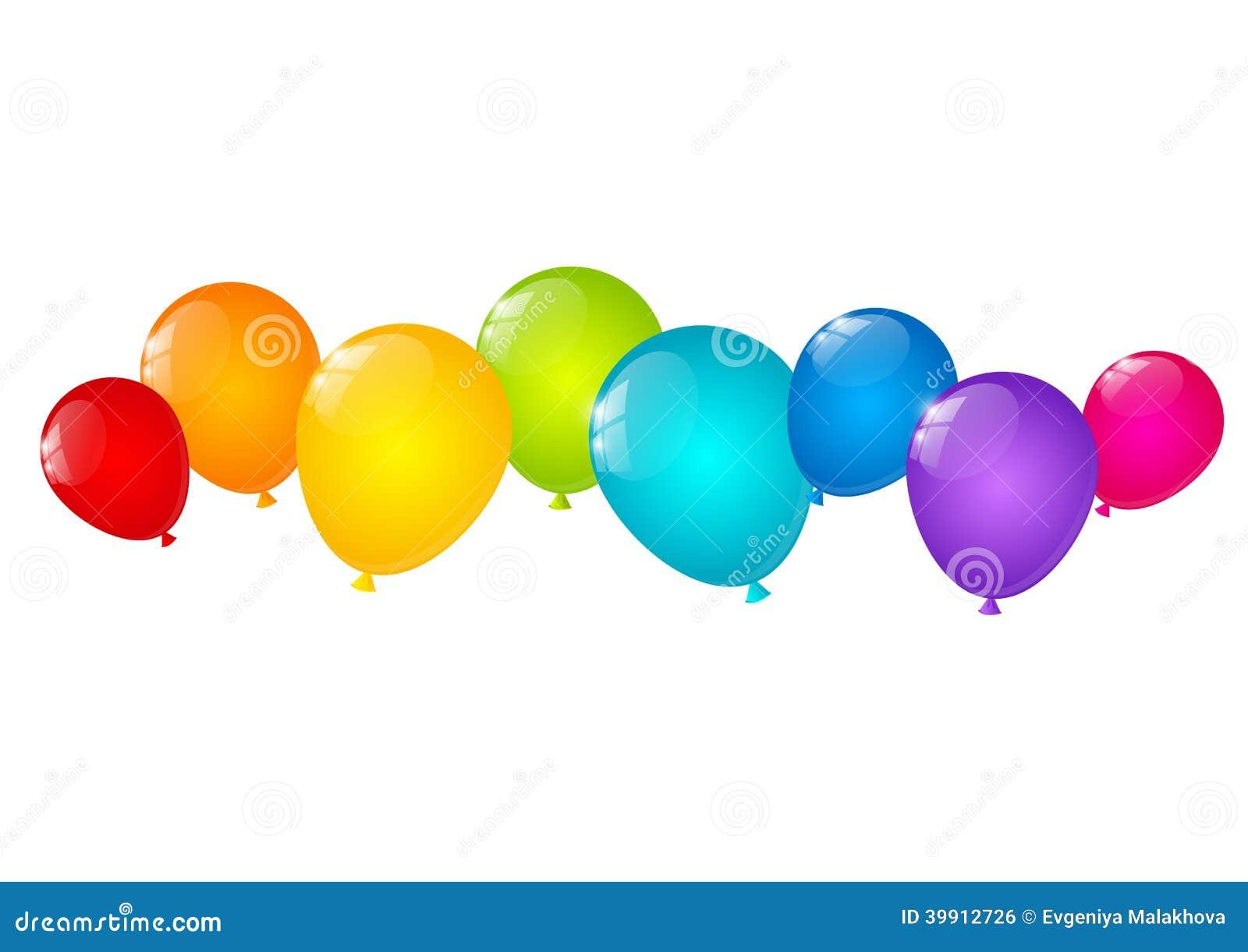 Balloons Top Border | www.pixshark.com - Images Galleries ...