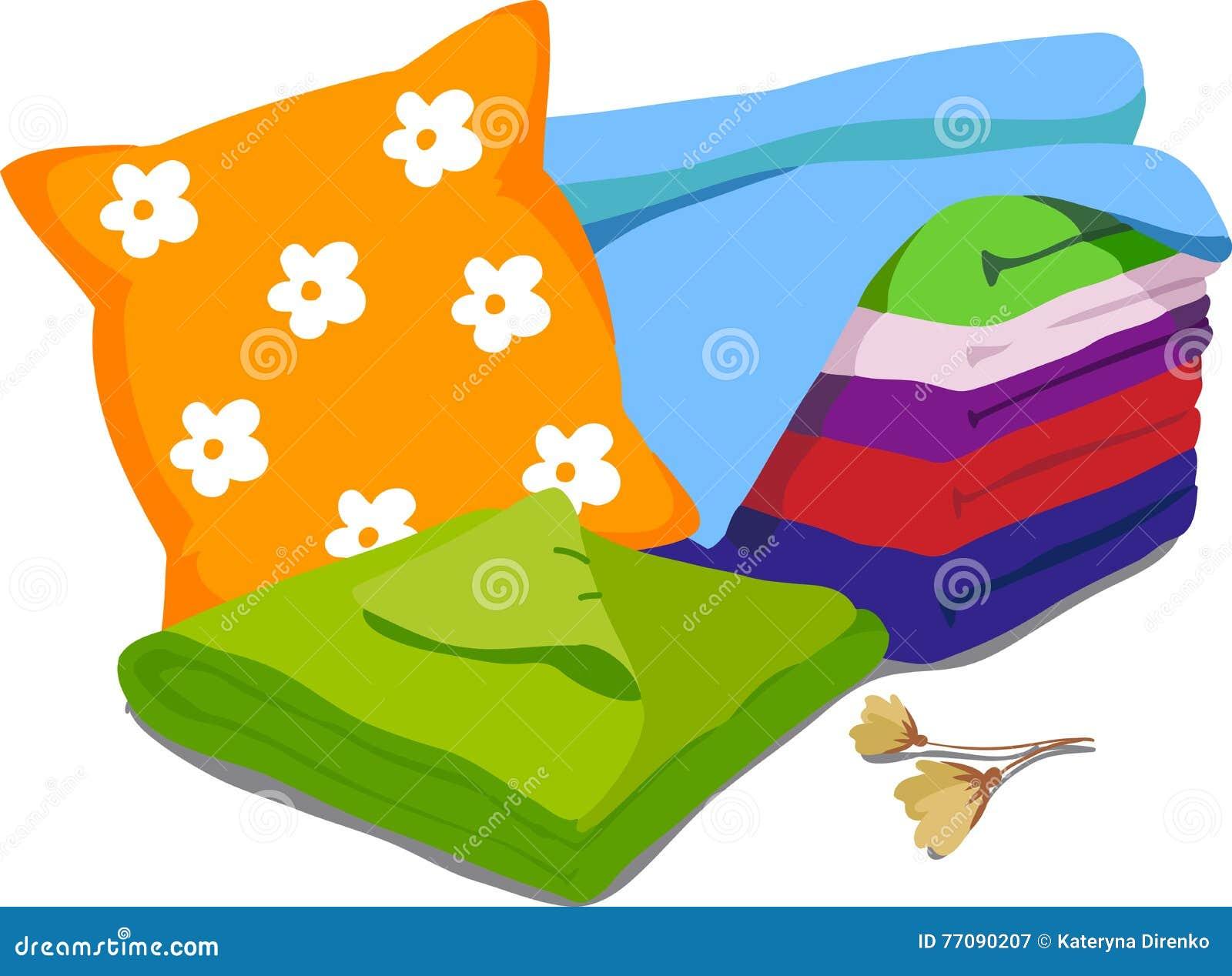 Color bed linen