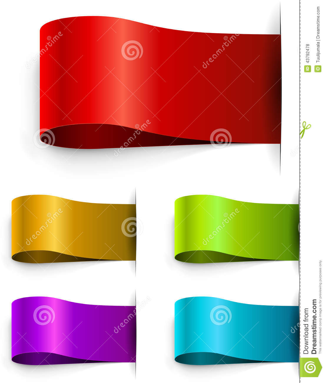 color blank tags template stock vector illustration of brand 43792478