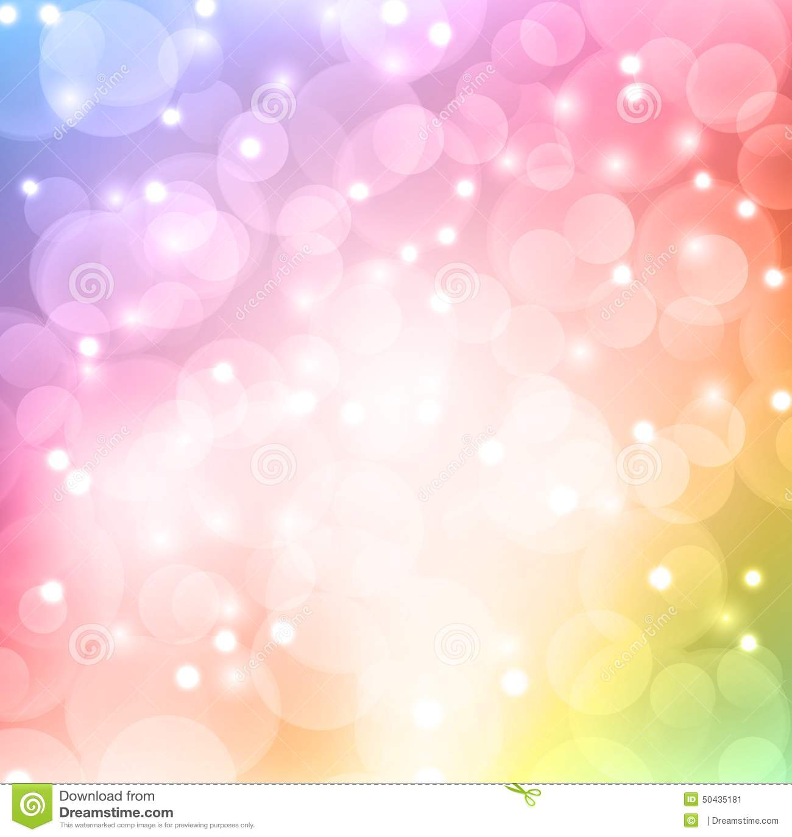 Color bokeh abstract light background stock vector image for Lichte kleuren interieur
