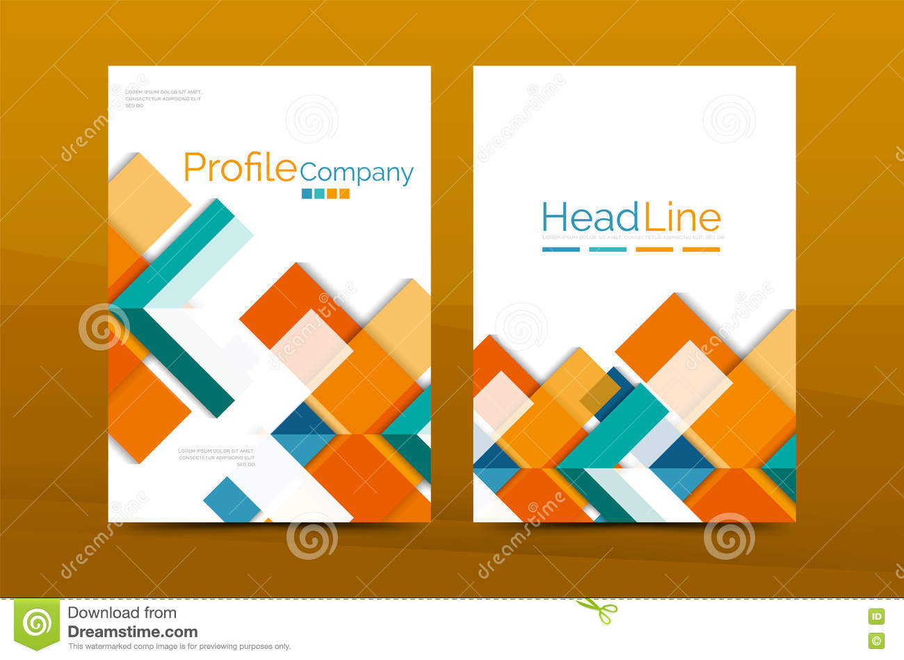 Cover page Vector