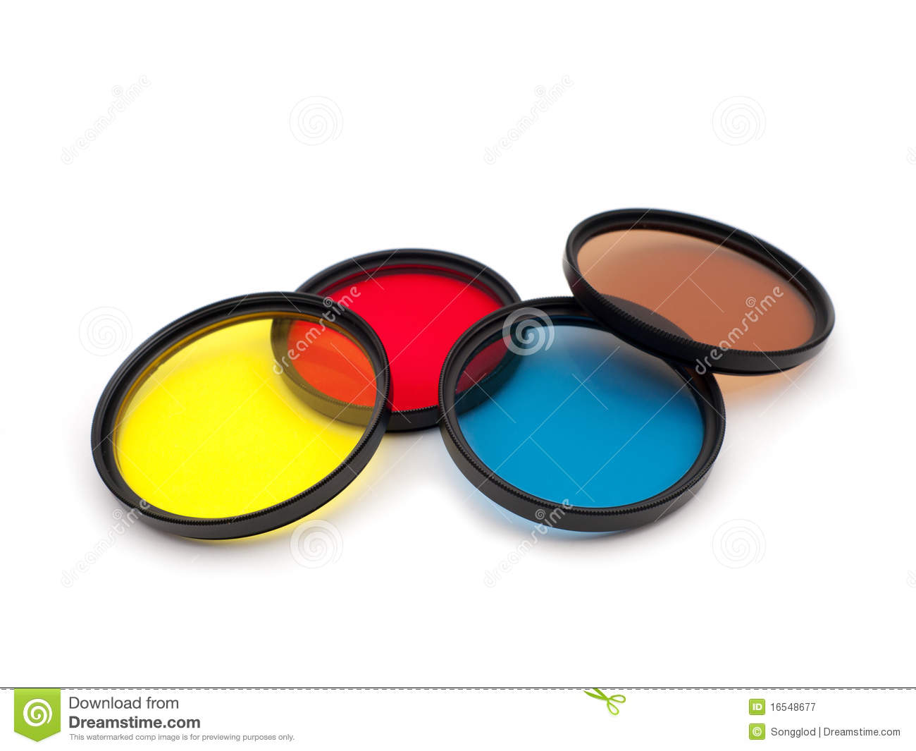 Color Camera Filters Royalty Free Stock Photography - Image: 16548677