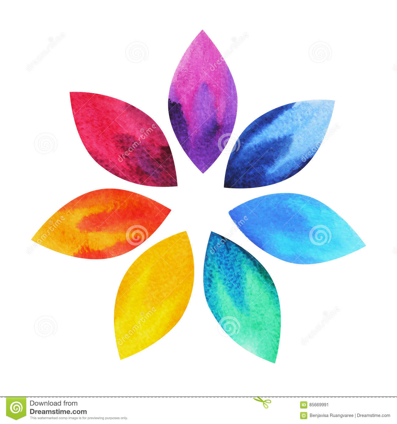 7 color of chakra sign symbol colorful lotus flower icon stock 7 color of chakra sign symbol colorful lotus flower icon mightylinksfo