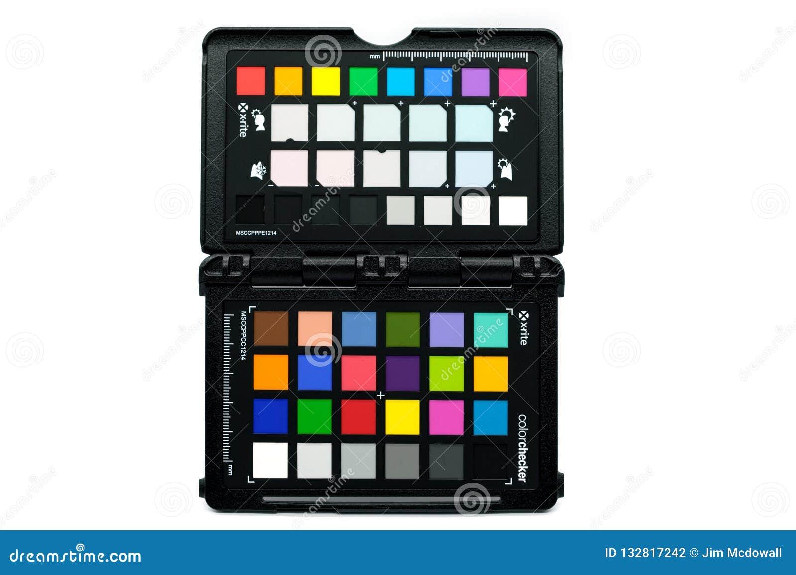 Color Checker Passport X-rite Branded Phorographic Color