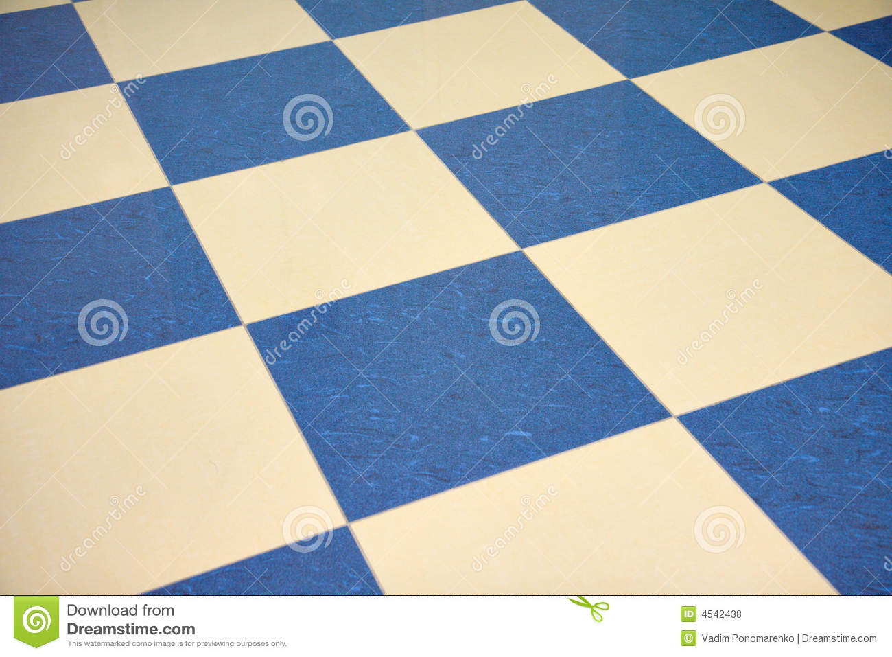 Color Checkered Marble Floor Royalty Free Stock Photos