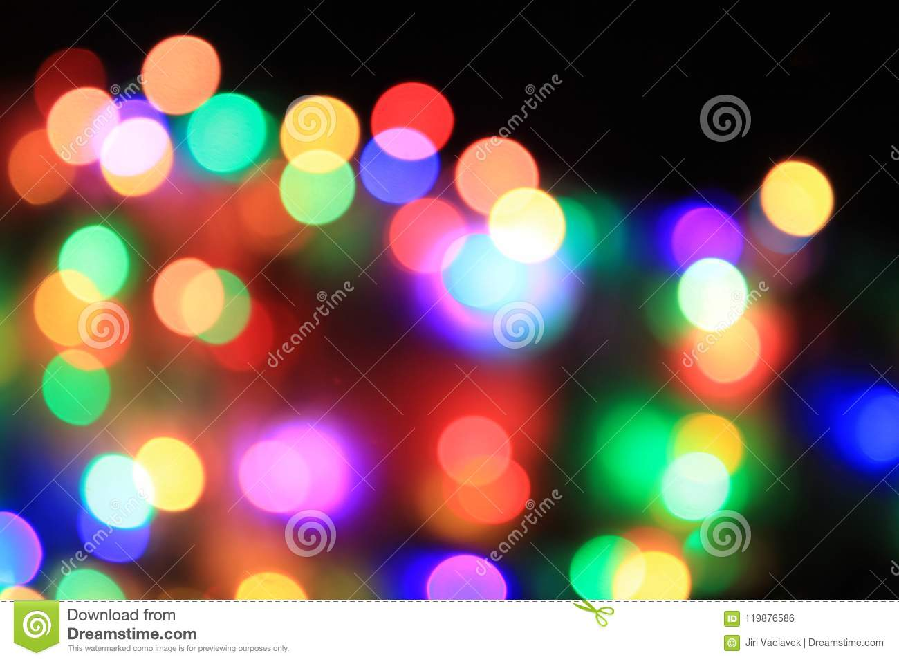 color christmas lights texture as very nice background