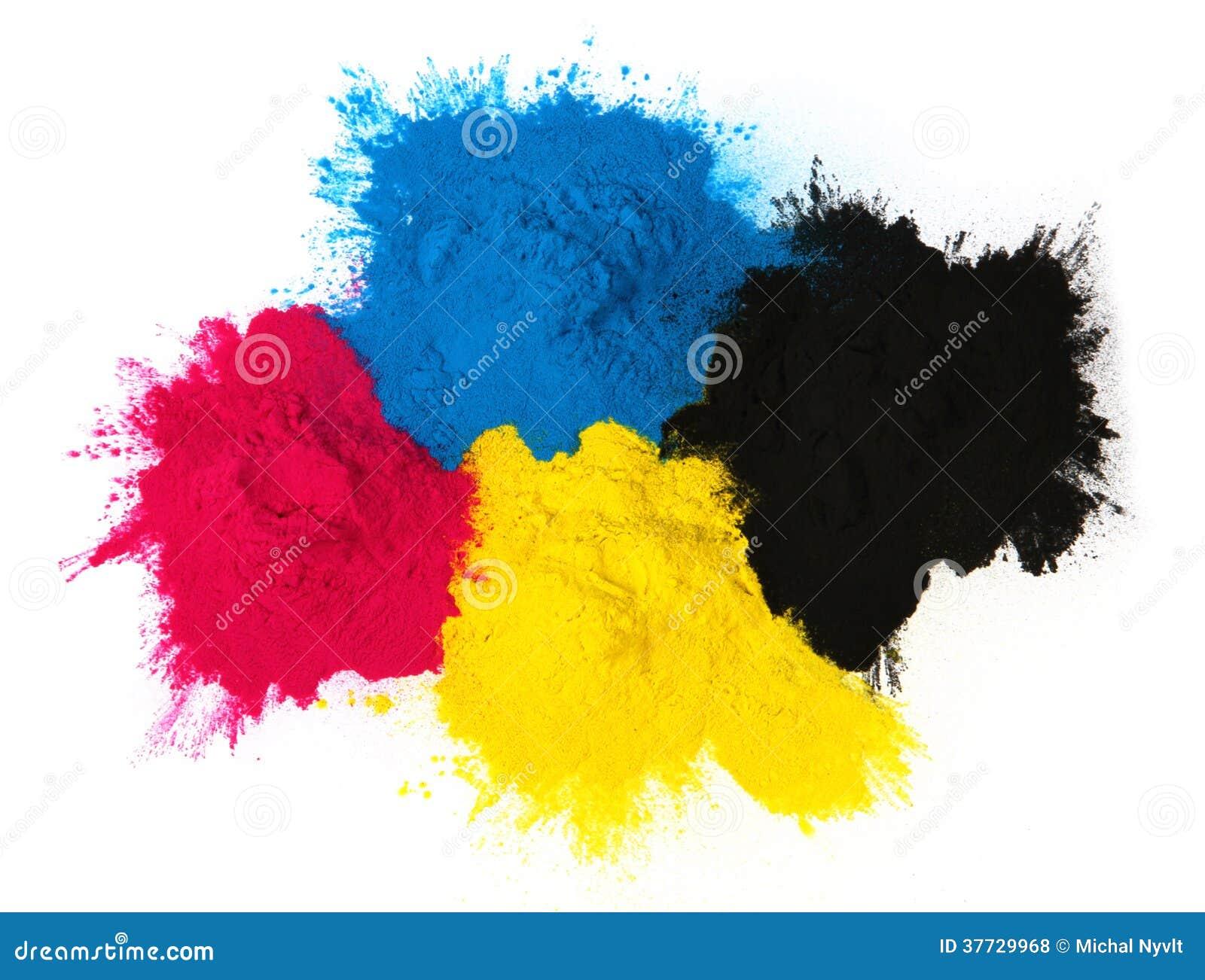 Color copier toner