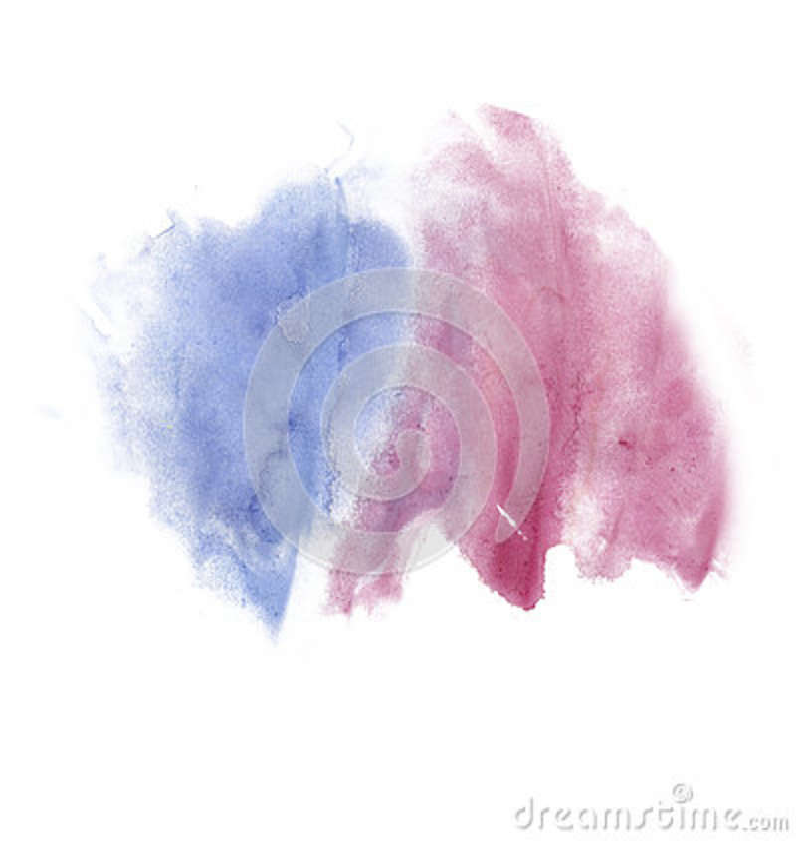 Color de azul rojo de la textura del movimiento de la pintura de los movimientos de la acuarela con el espacio para su propio art
