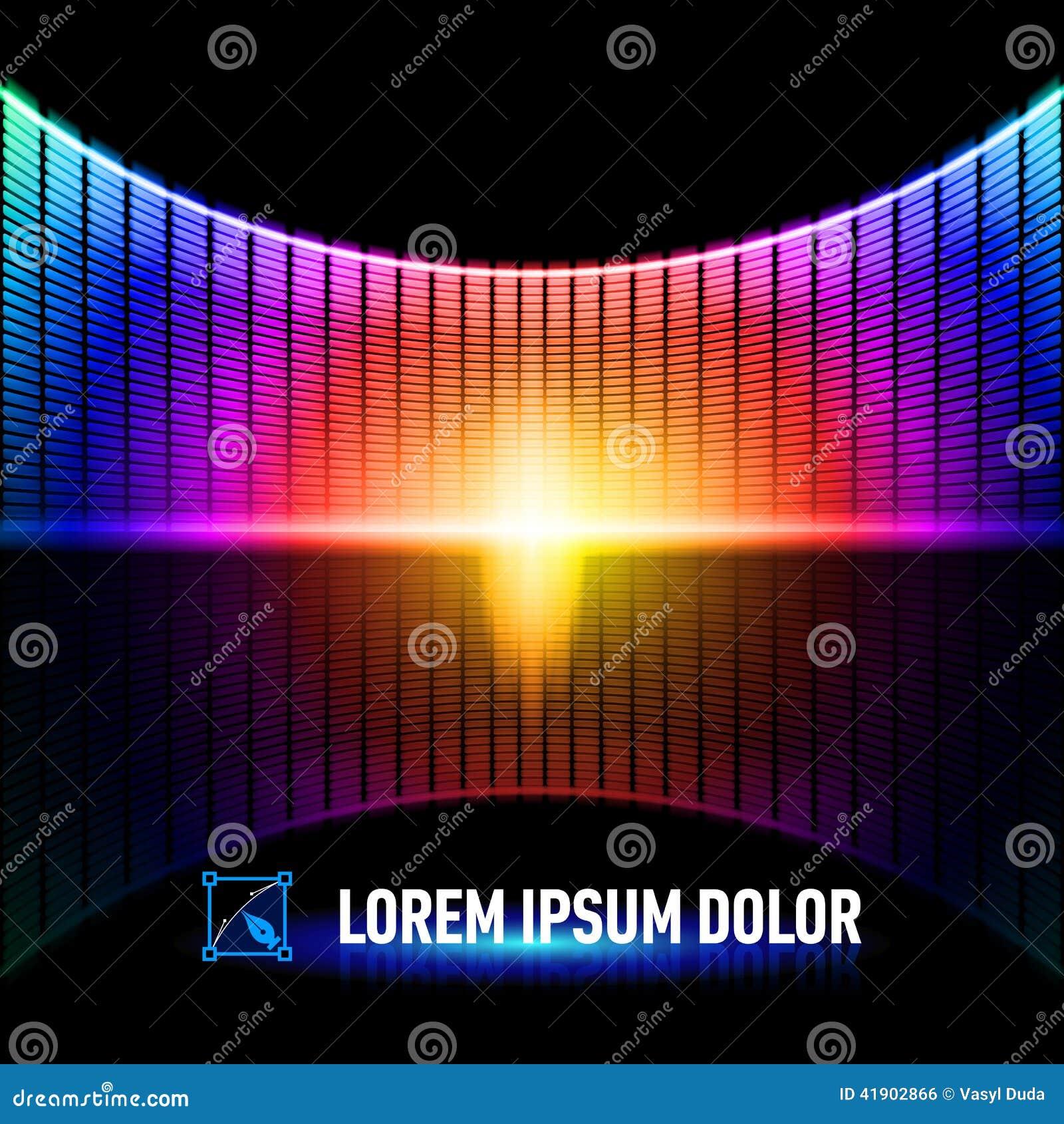 Color de la música