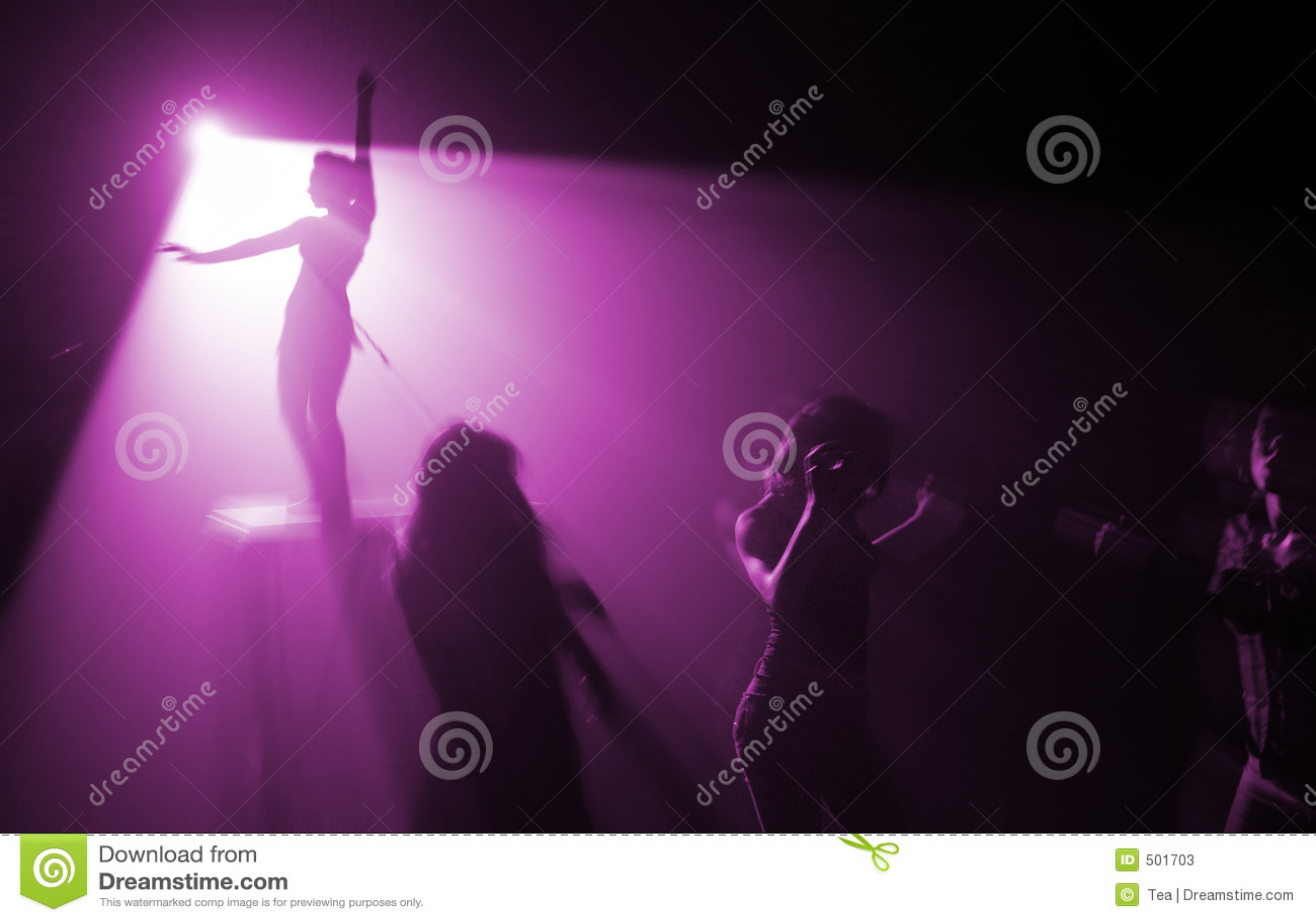 Color diskodeltagaren violett