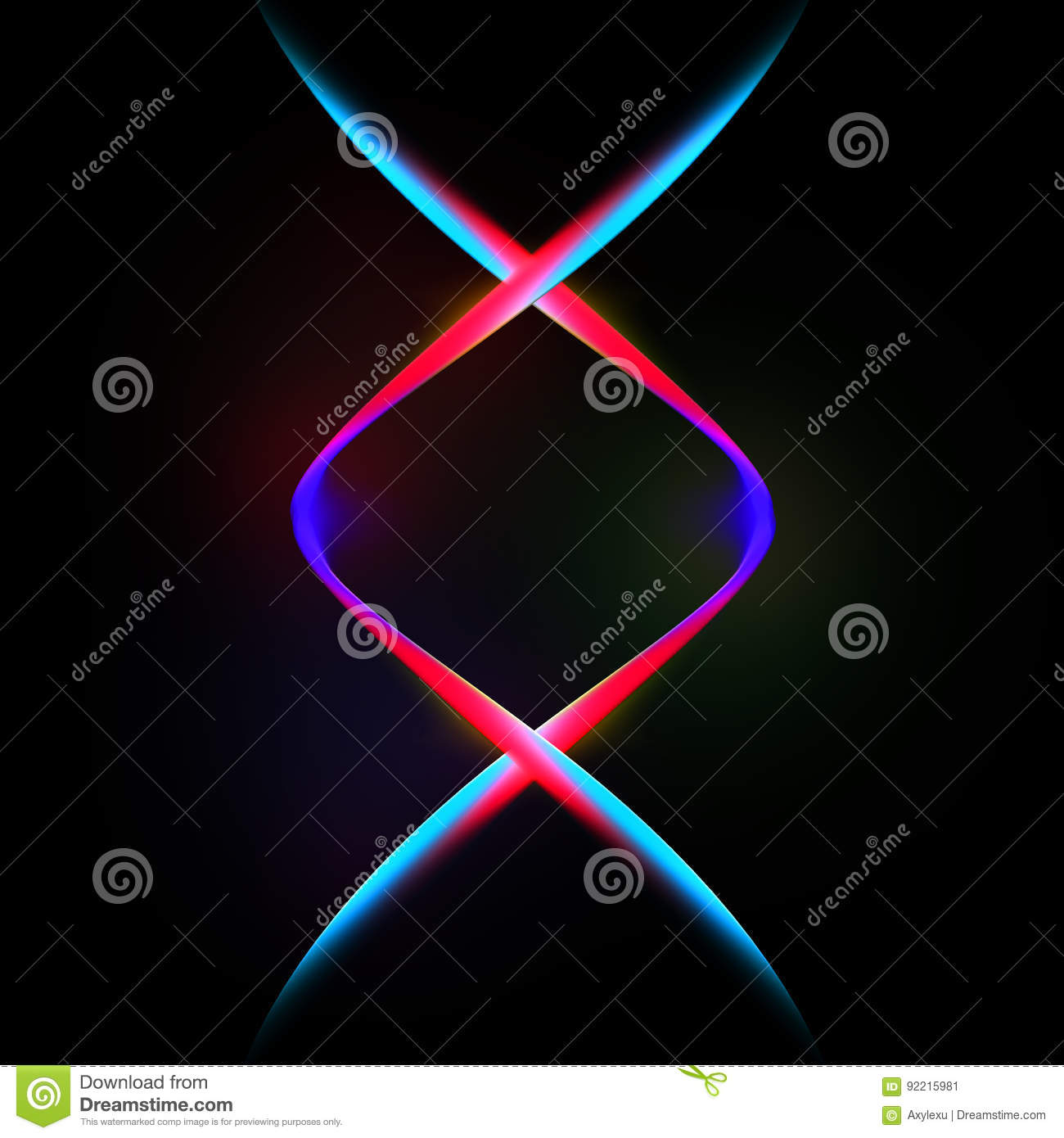 Color dynamic lines modern abstract