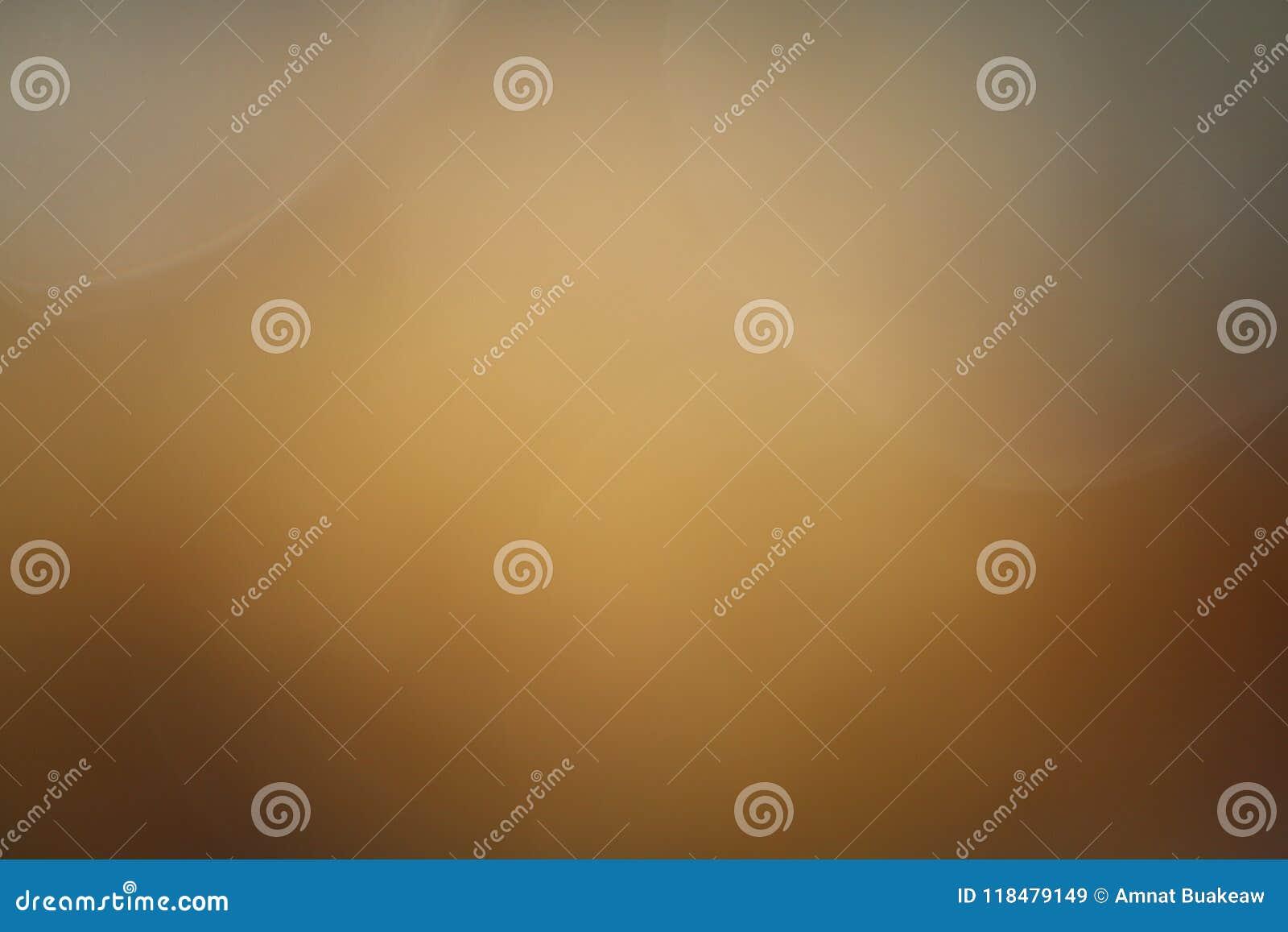 Color en colores pastel borroso soplado del oro de la luz suave del fondo, arte abstracto gráfico soplado oro de la pendiente bri