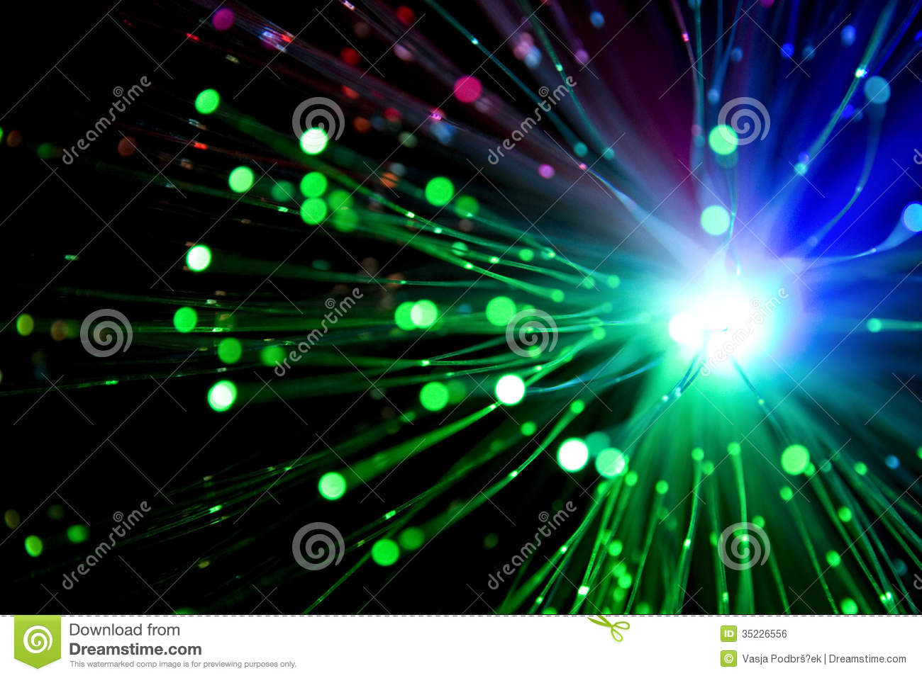 Color Explosion Stock Photo Image Of Network Optic