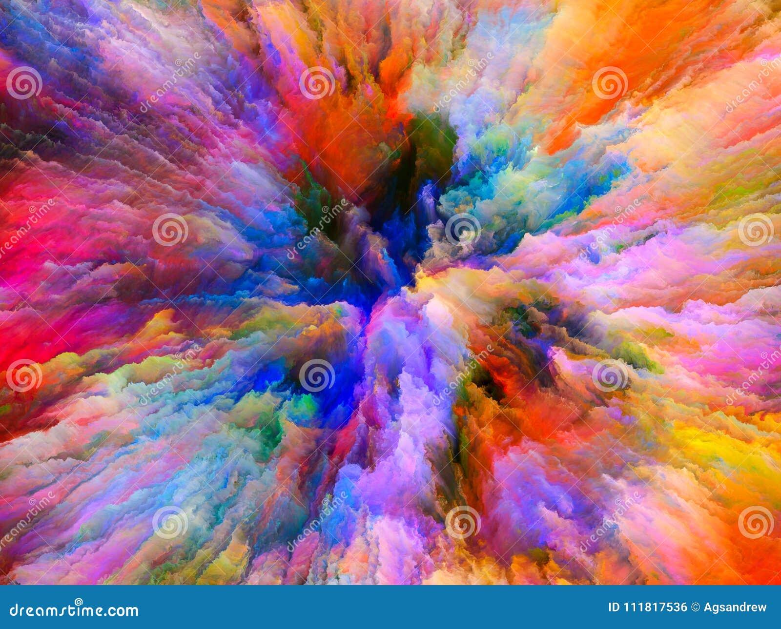 paradigm of surreal paint stock illustration illustration of