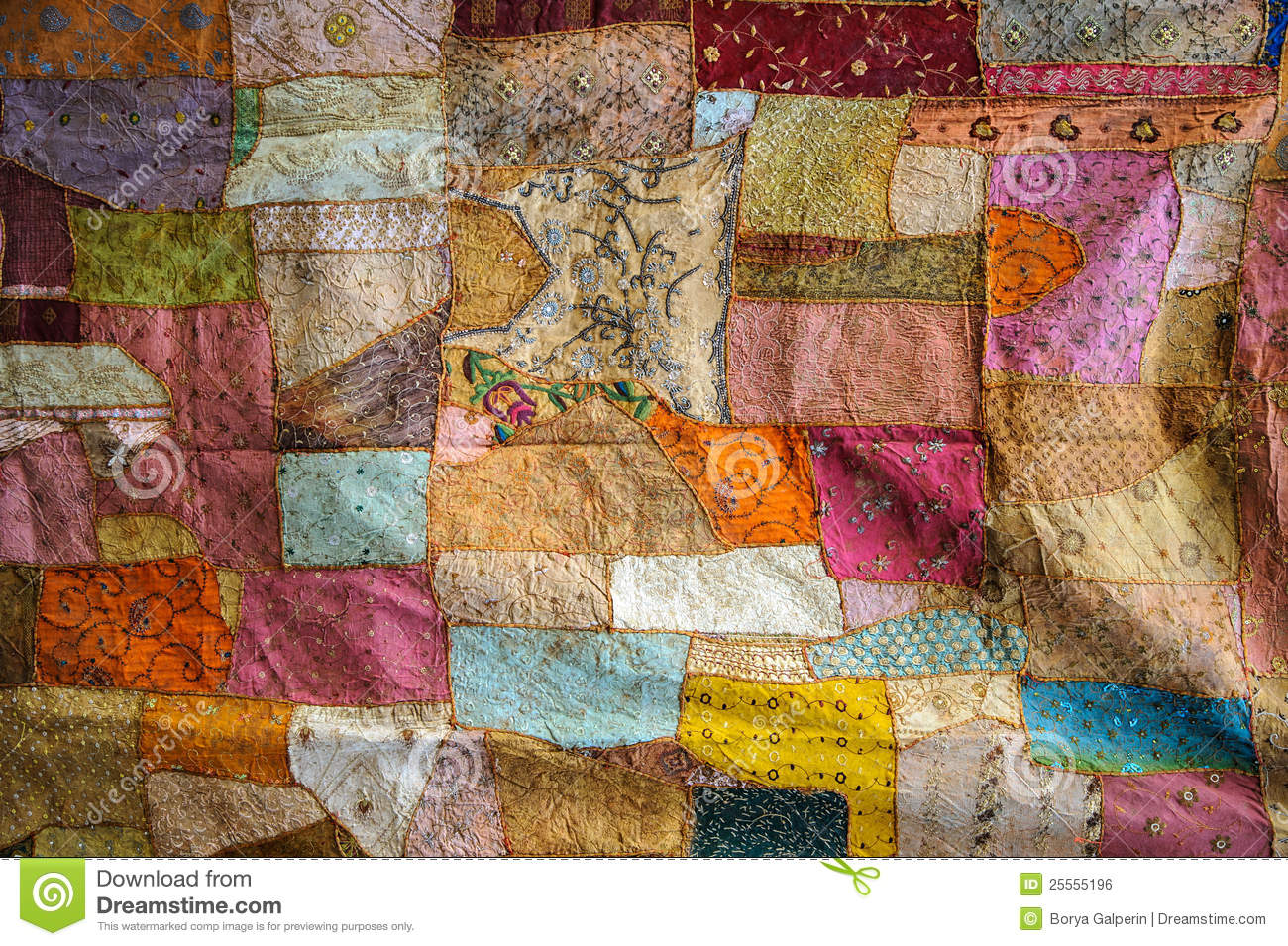 Color fabric texture royalty free stock image image for Arabian decoration materials trading