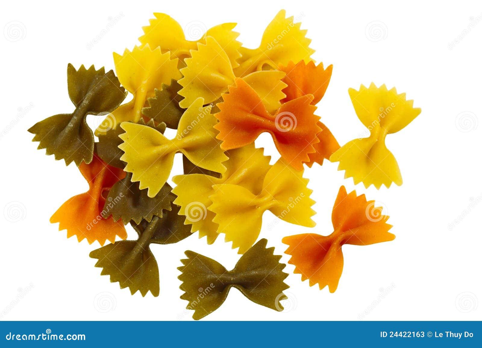 Color farfalle tri