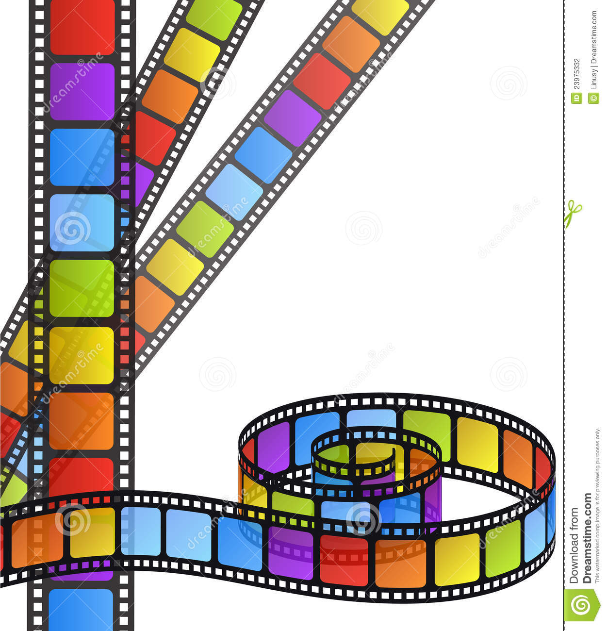 film strip coloring pages - photo#25