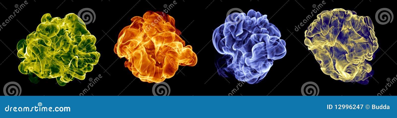 Color fire set