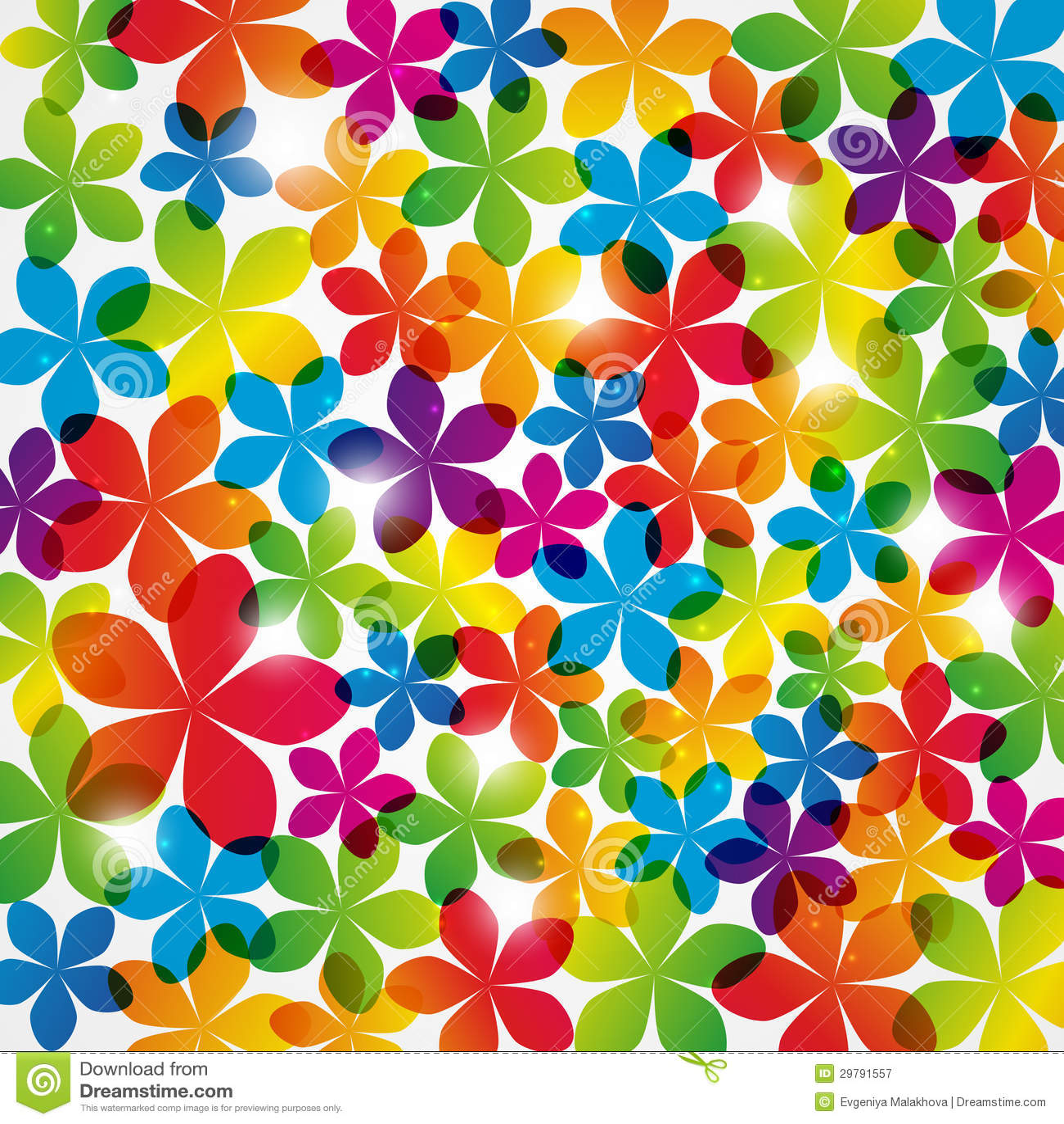rainbow flower background - photo #25