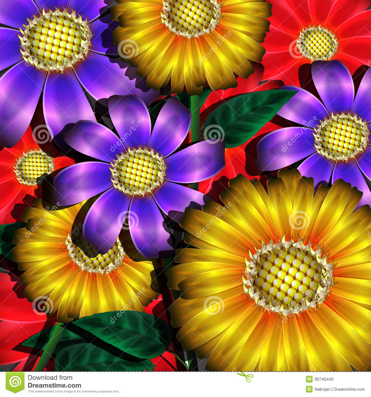 Photo collection flowers with different color for What makes flowers different colors