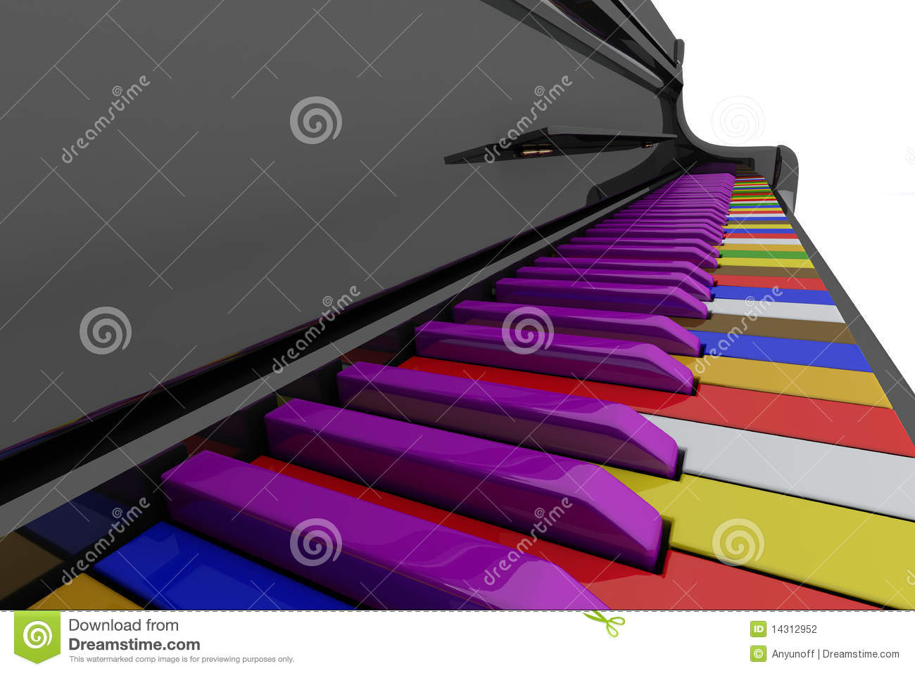 Source Thumbsdreamstime Report Colorful Grand Piano