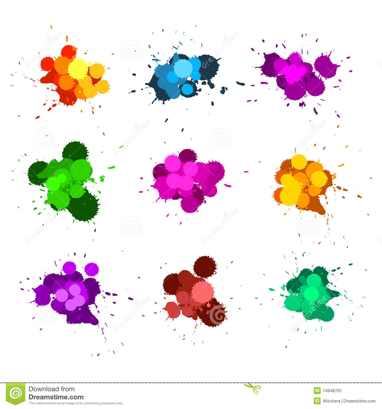colorful and outline ink - photo #13