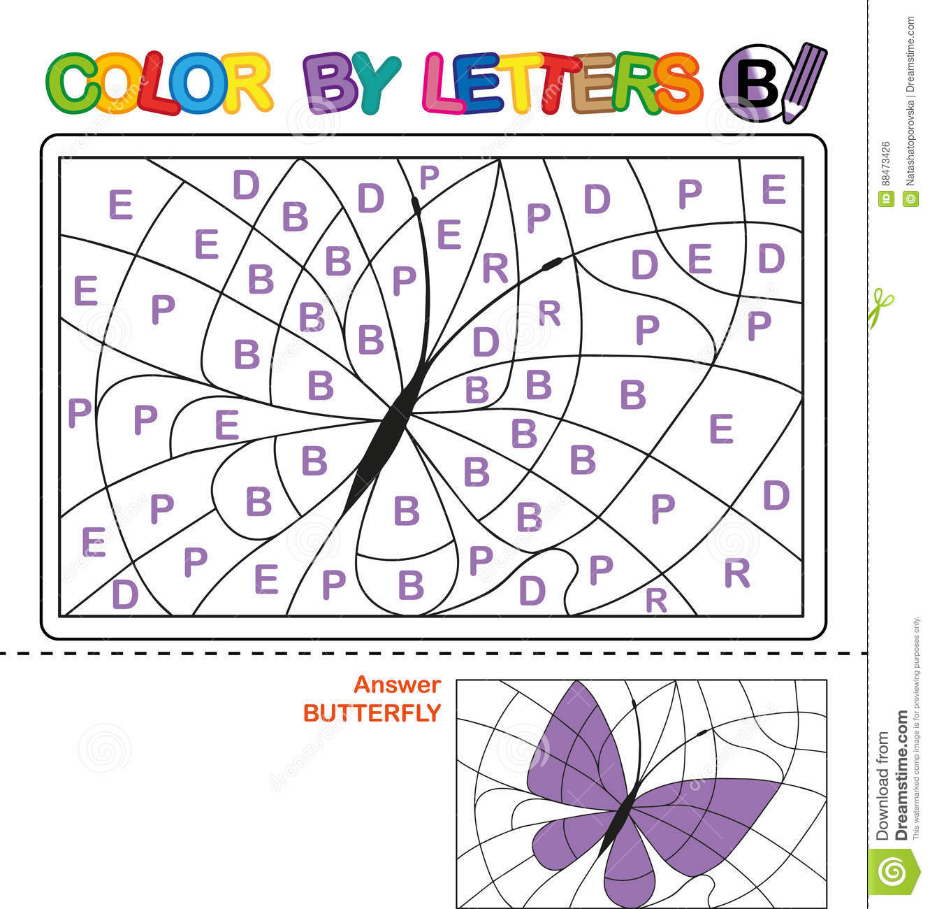 ABC Coloring Book For Kids Learn Capital Letters Of The English Alphabet Designers Also Selected These Stock Illustrations Color By Letter