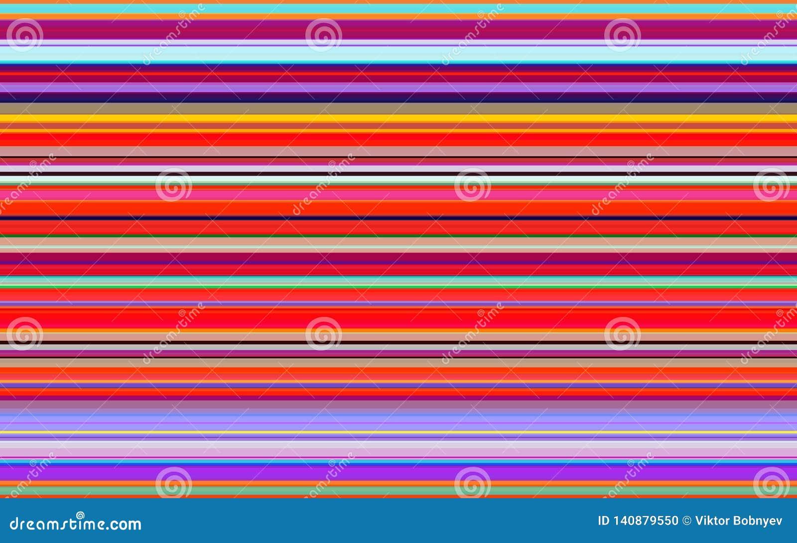 Color Lines Textile Background  Colorful Stripes Design