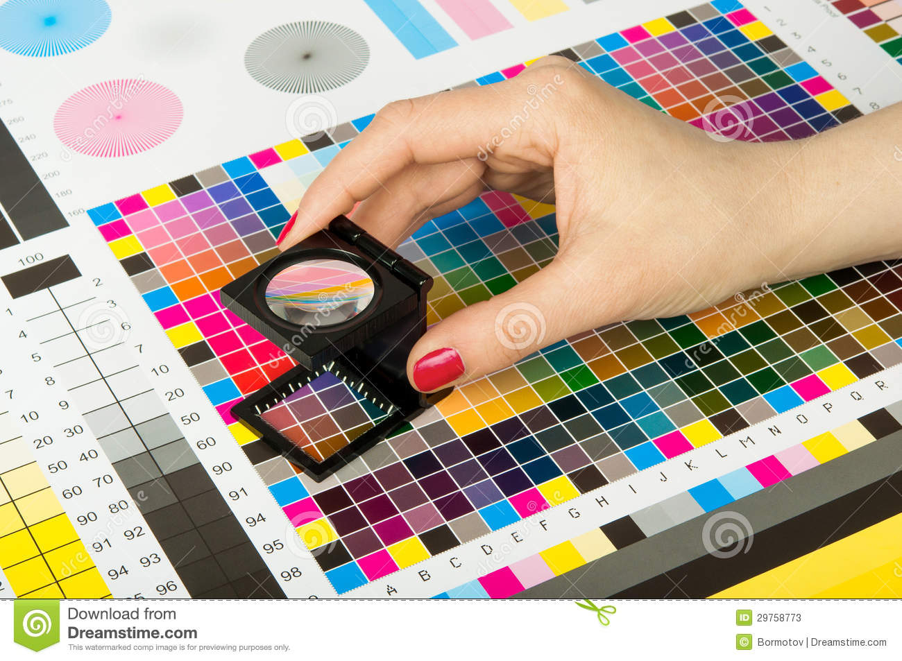 color management in print production stock photos image 29758773