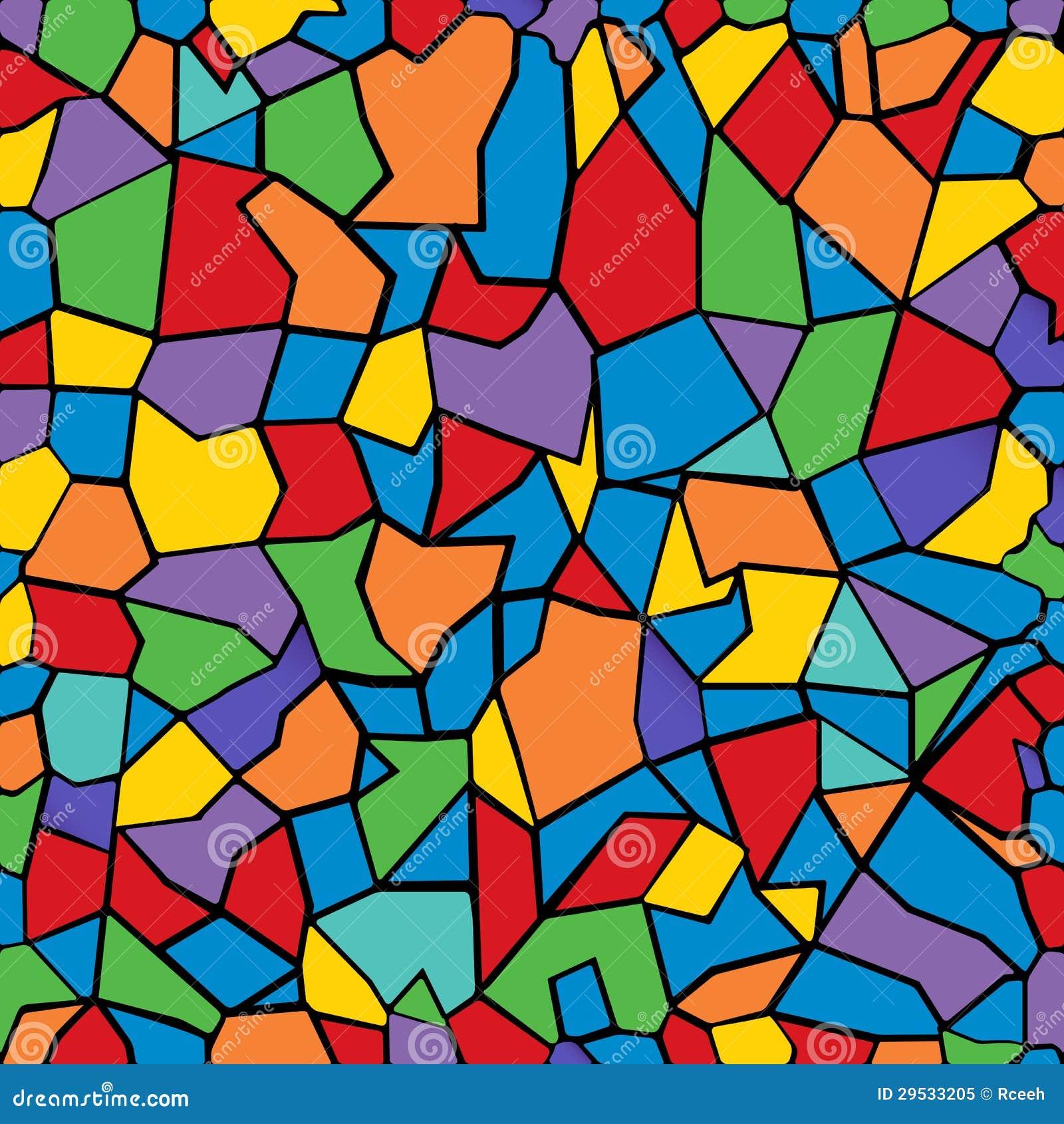 Color mosaic stock vector illustration of abstract - Mosaicos de colores ...