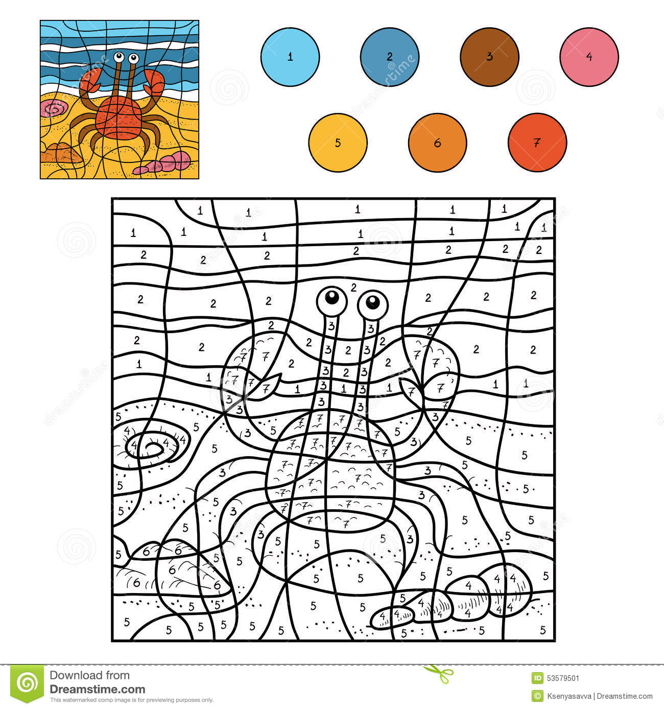 What Color To Paint A Crab