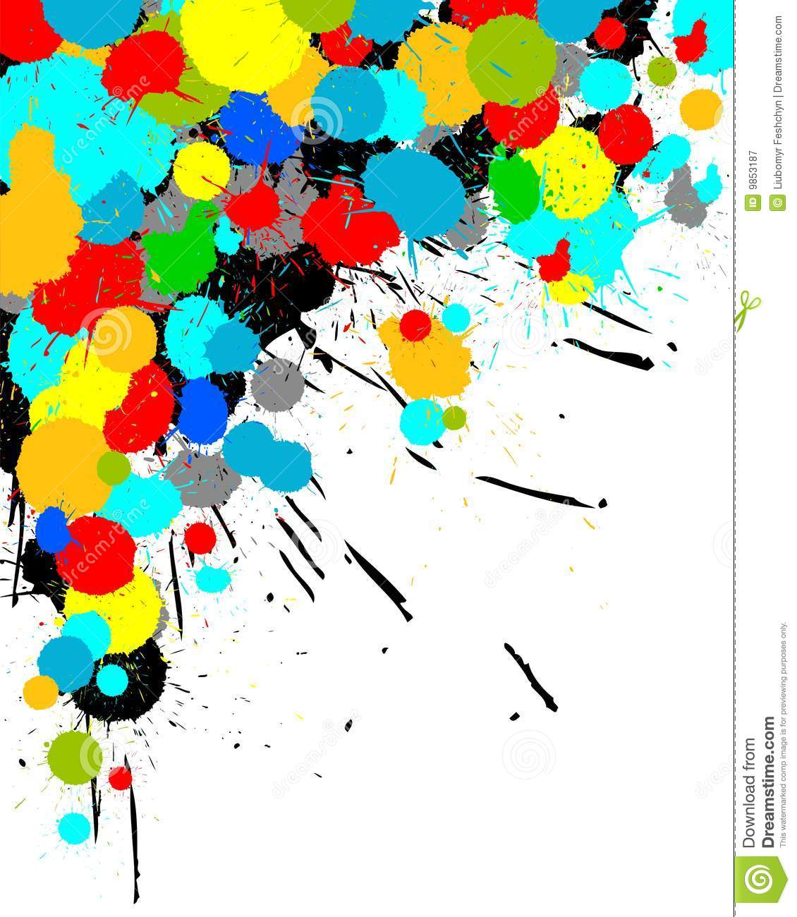 Color Paint color paint splashes background royalty free stock photography