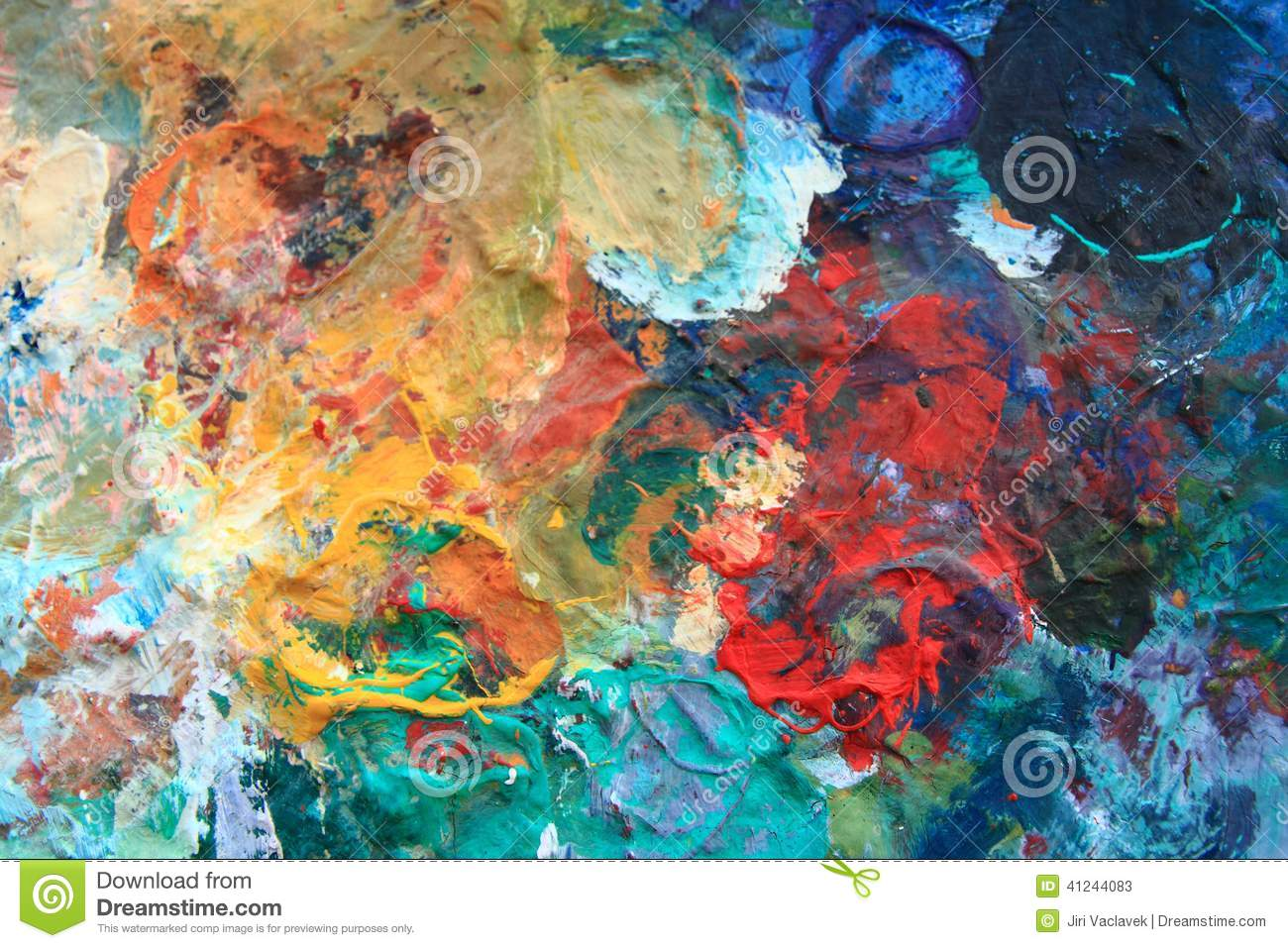 Color Palette As Abstract Background Stock Image Image Of