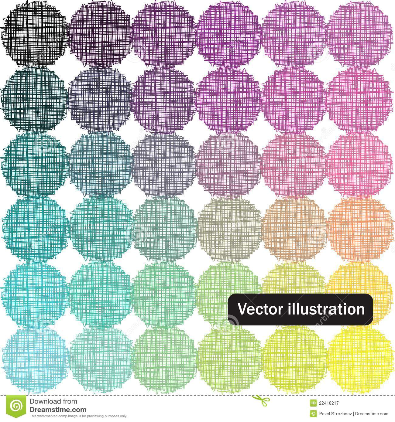 Color palette background stock vector  Illustration of