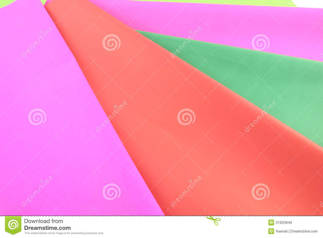 Download Color paper stock image. Image of green, cover, collection - 21623949