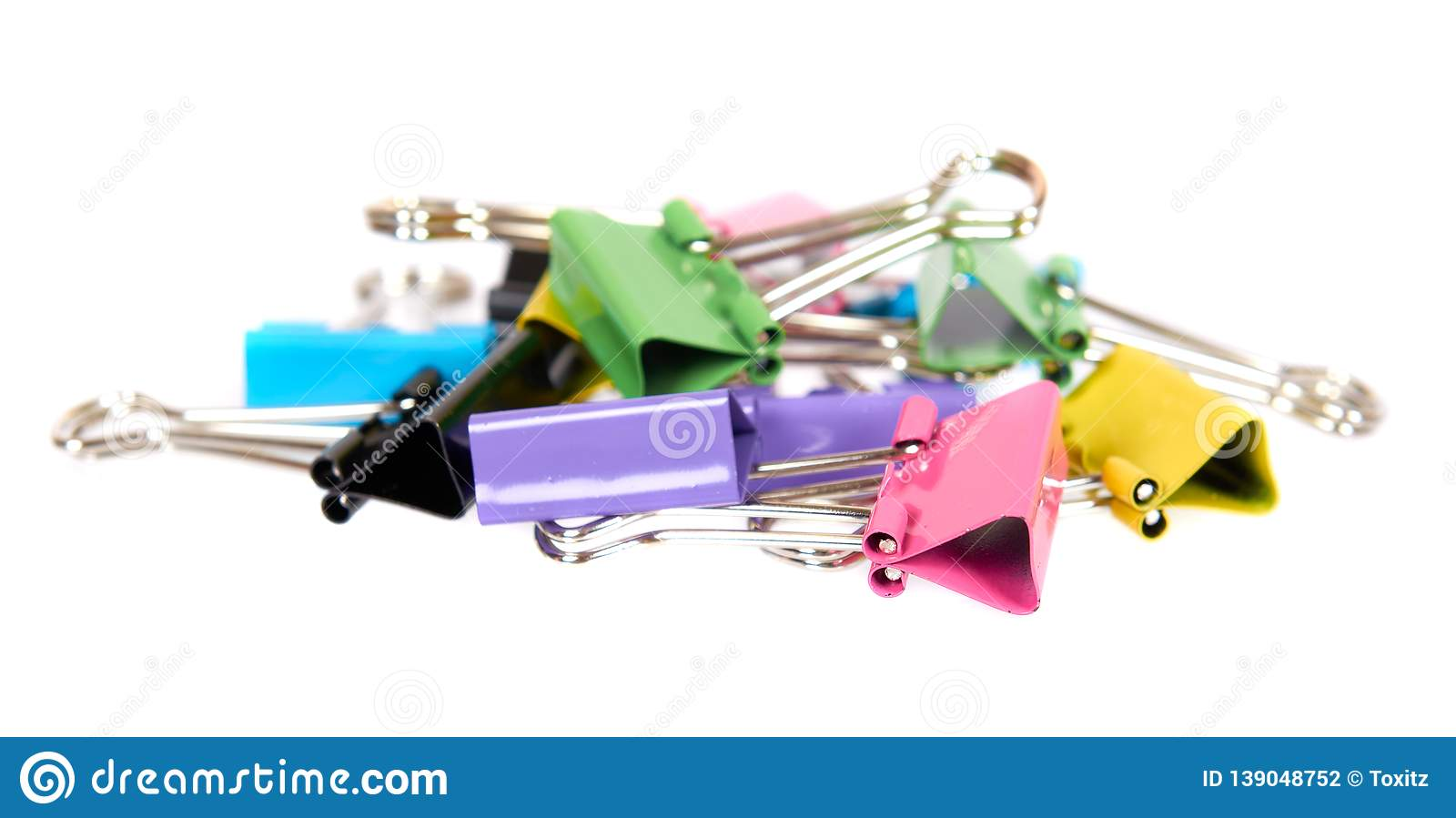 Color paper cilp, office accessory, fastener for notes
