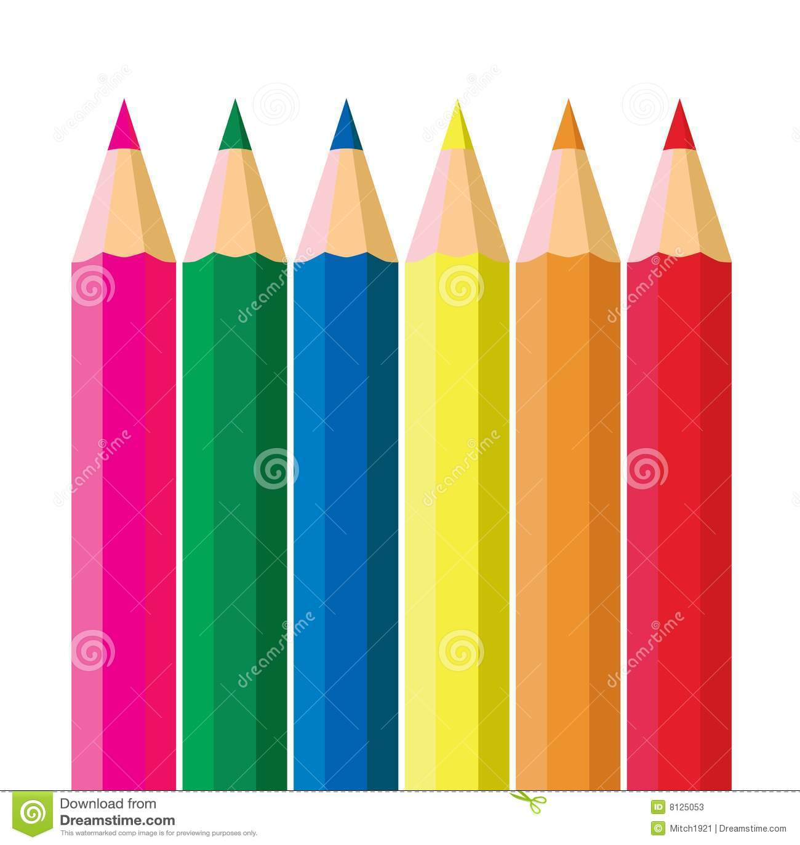 clipart pink crayon