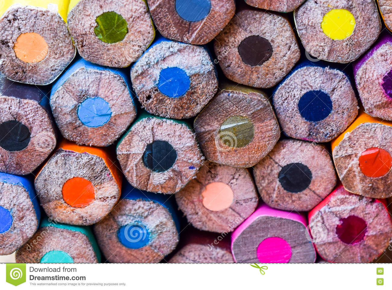 Color pencil for texture stock image. Image of texture ...