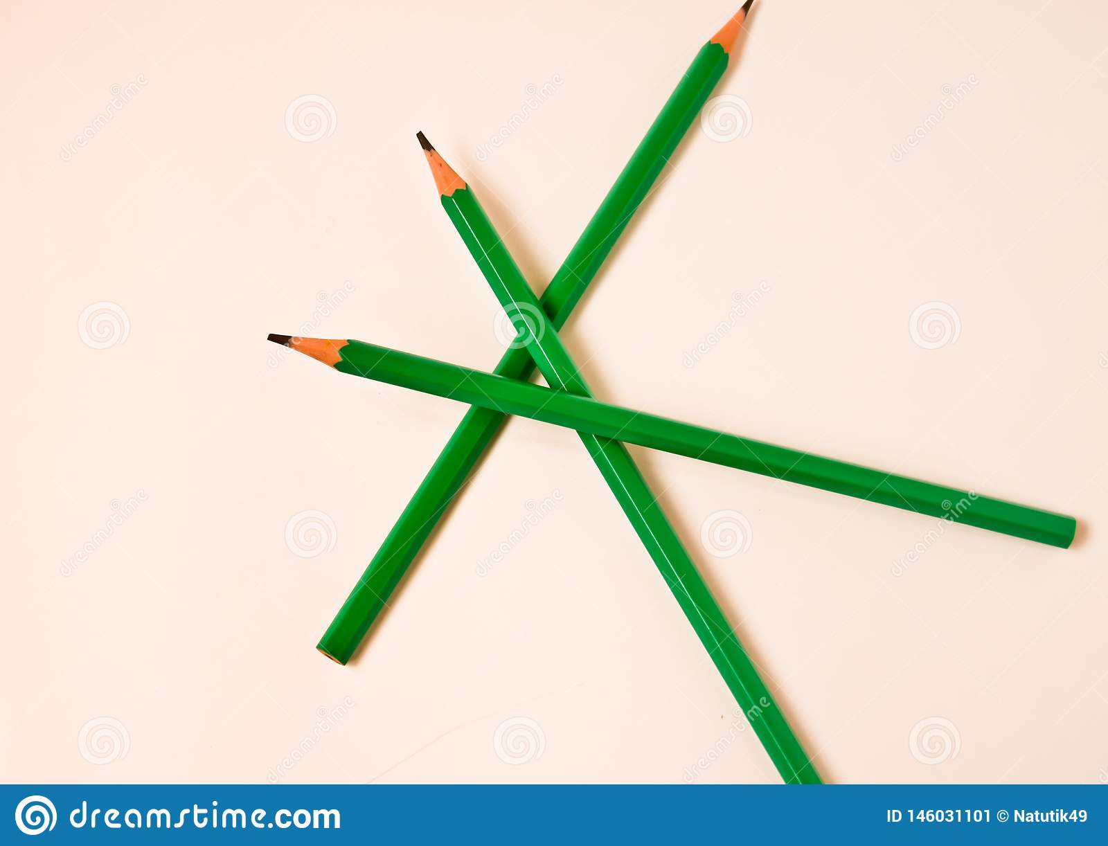 Color pencils pile  on white background with copy space for text. Happiness art education in childrens wallpaper