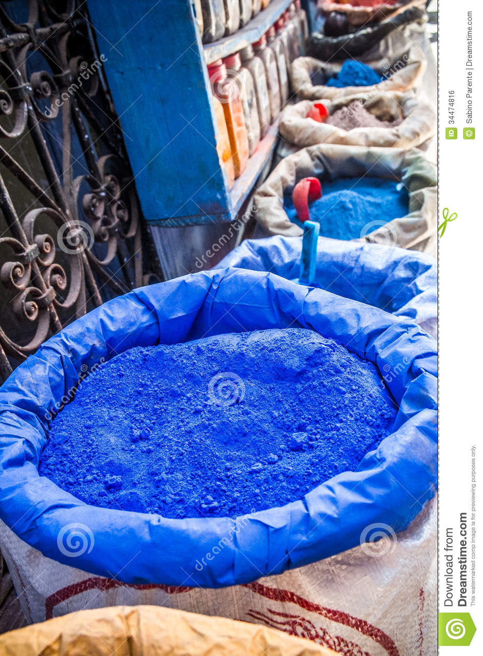 Color Pigments Royalty Free Stock Image Image 34474816