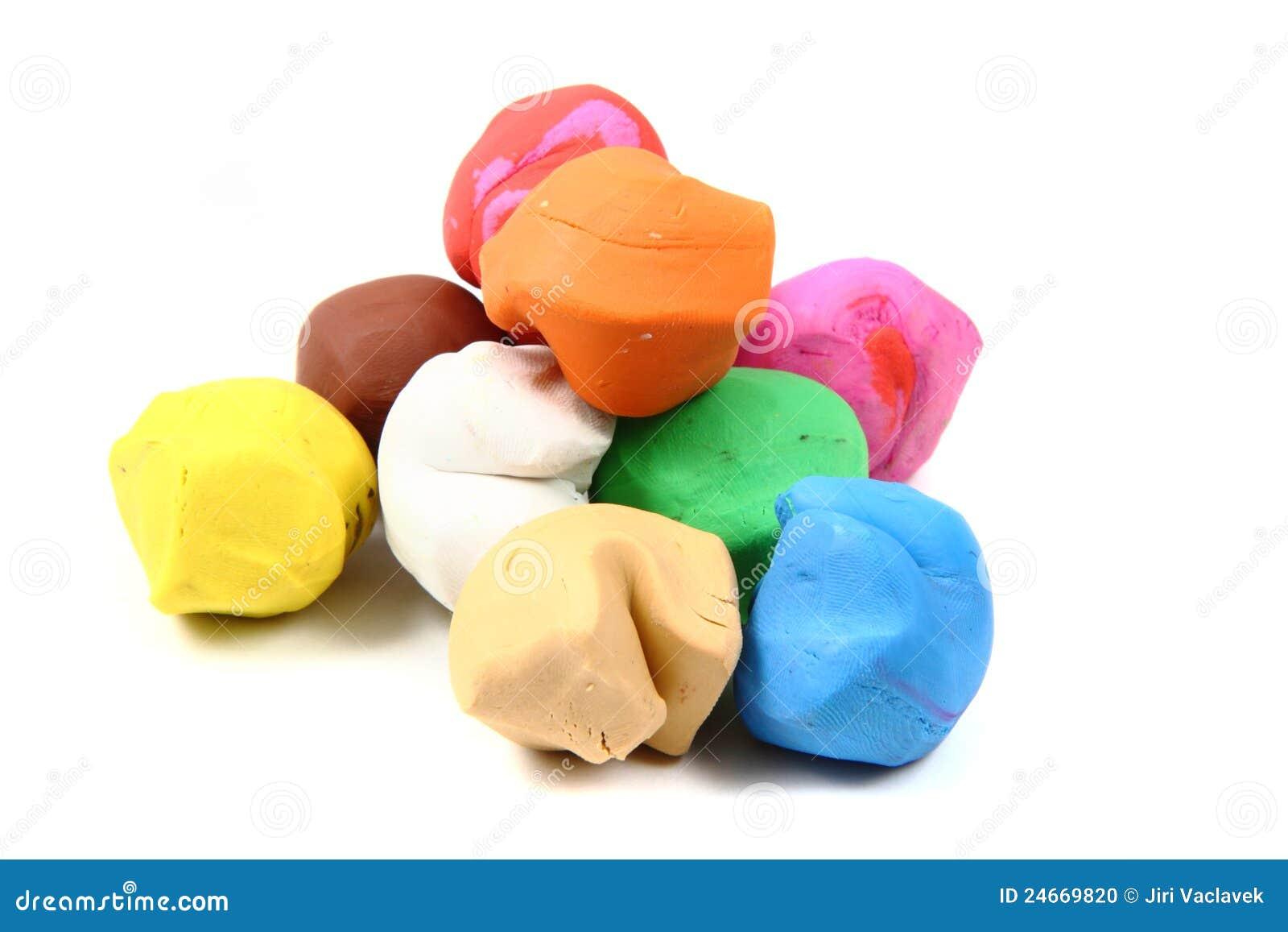 Color    Plasticine    Stock Photo  Image  24669820