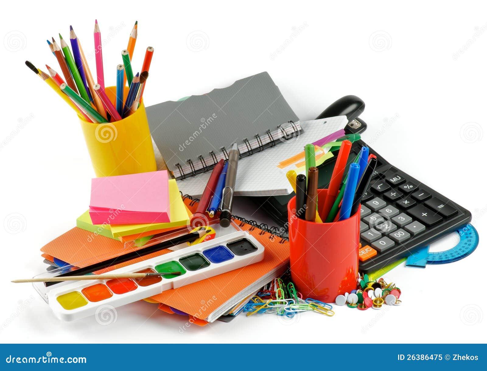 Color School Supplies