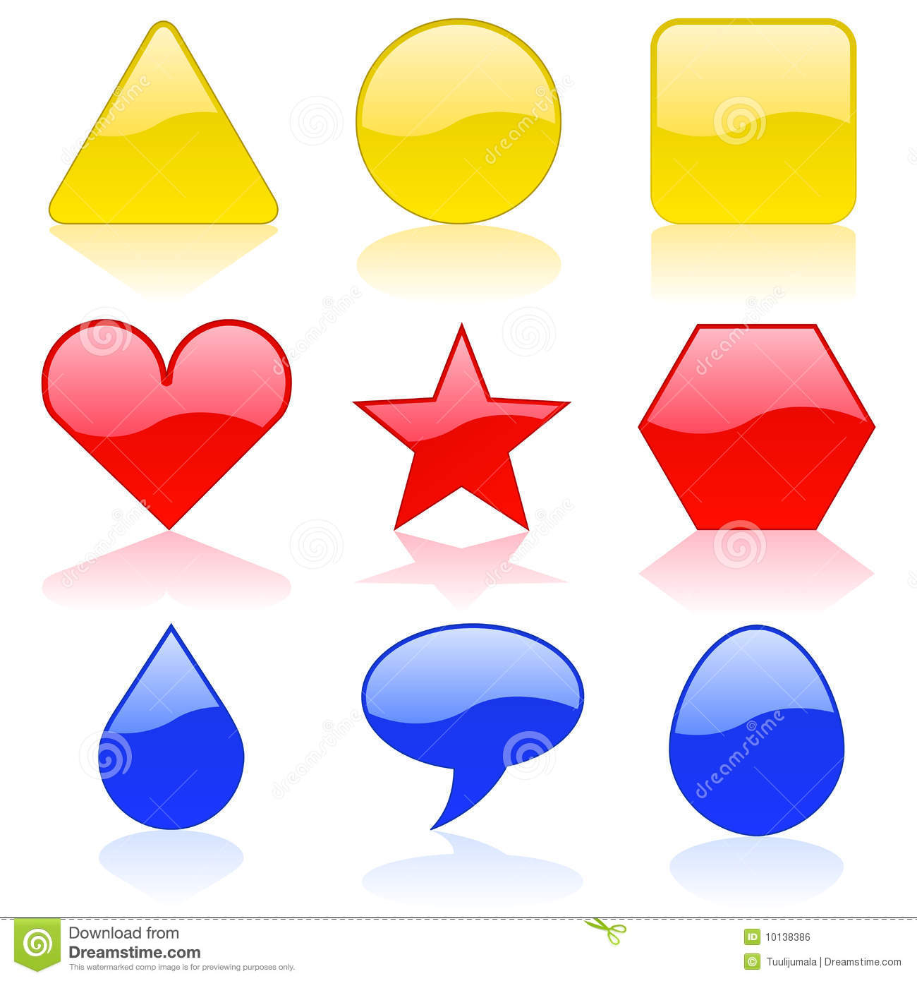 Worksheet Color Shapes color shapes royalty free stock image 10138386 shapes