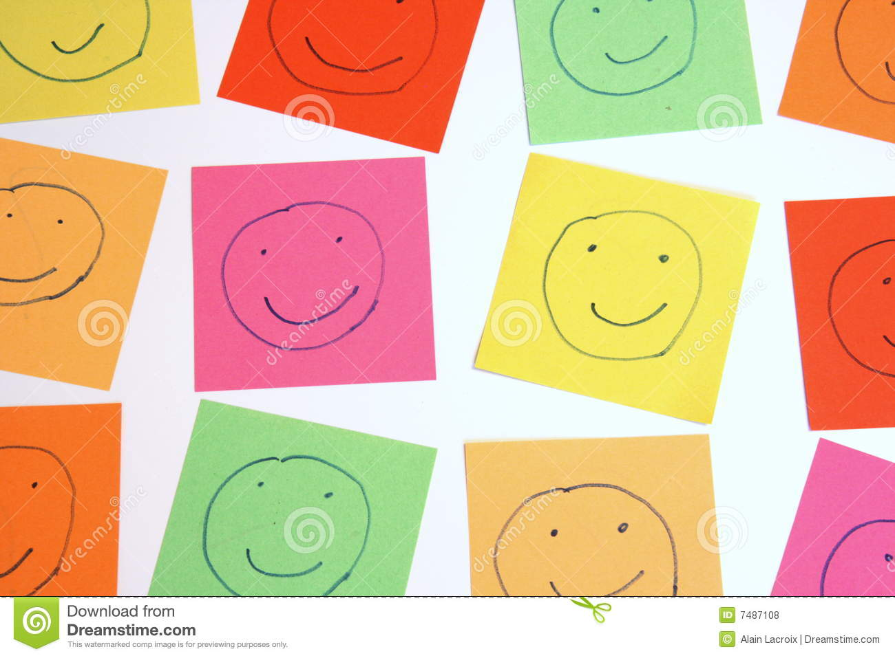 Color smileys