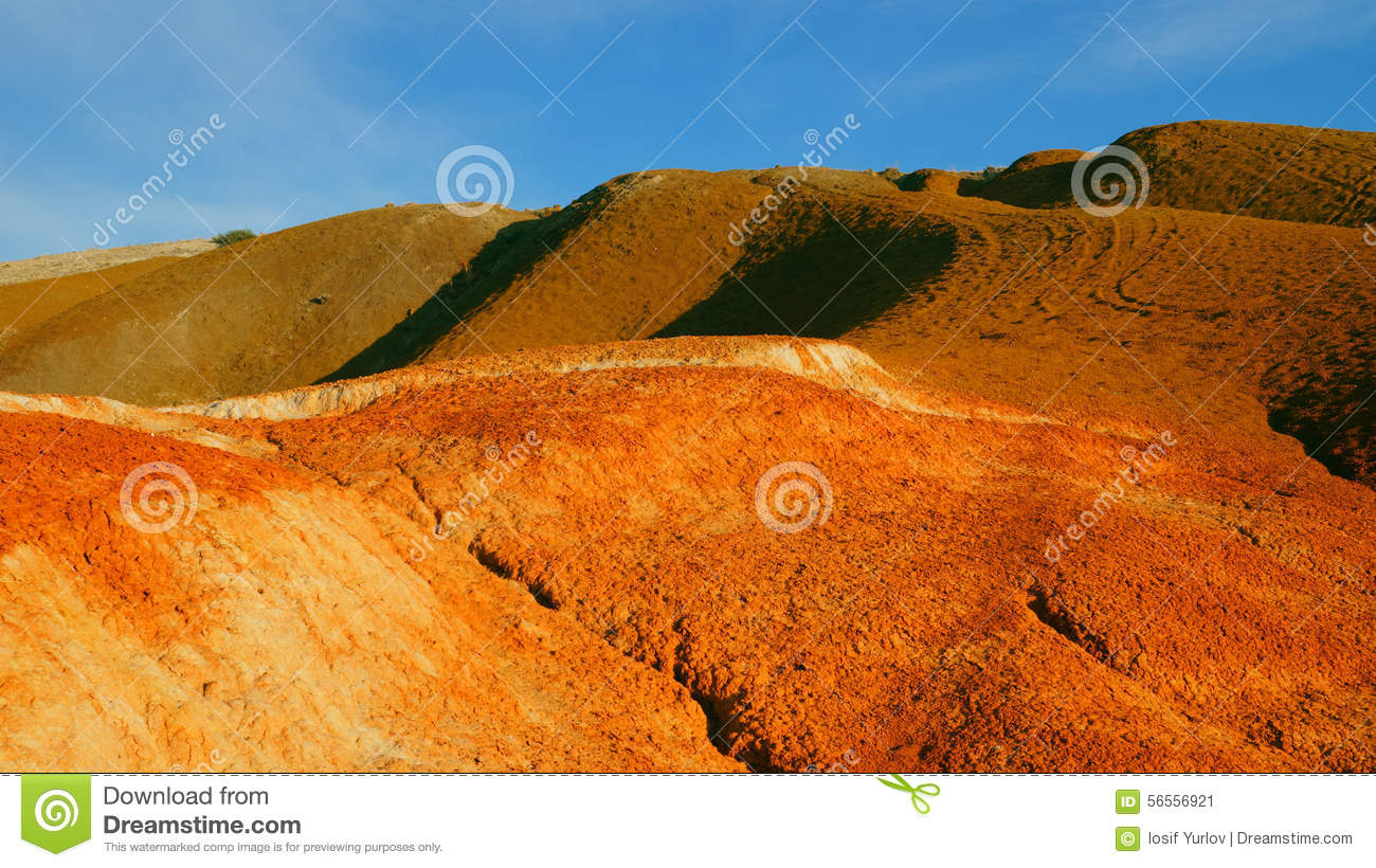 Color soil of mercury deposits stock image image 56556921 for Soil yellow color